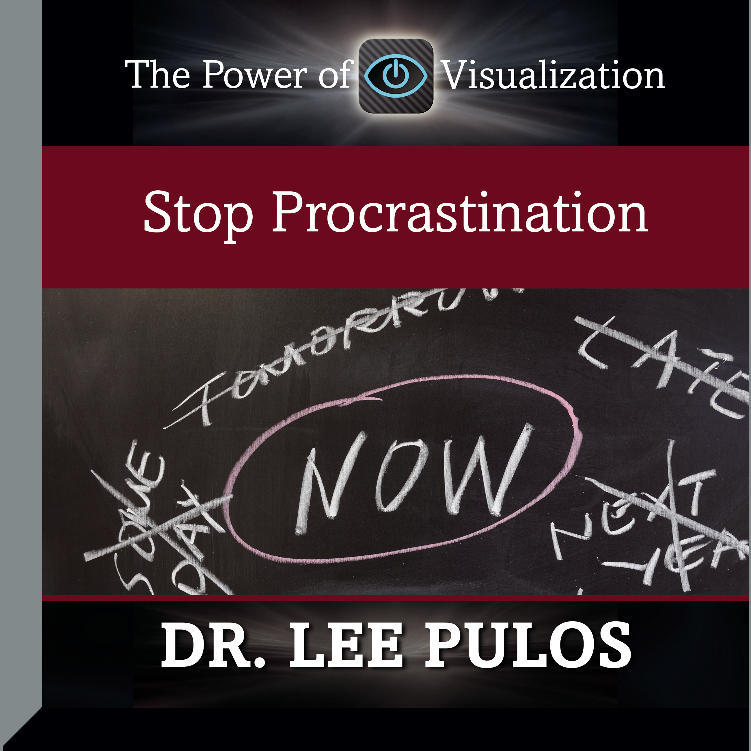 Printable Stop Procrastination Audiobook Cover Art