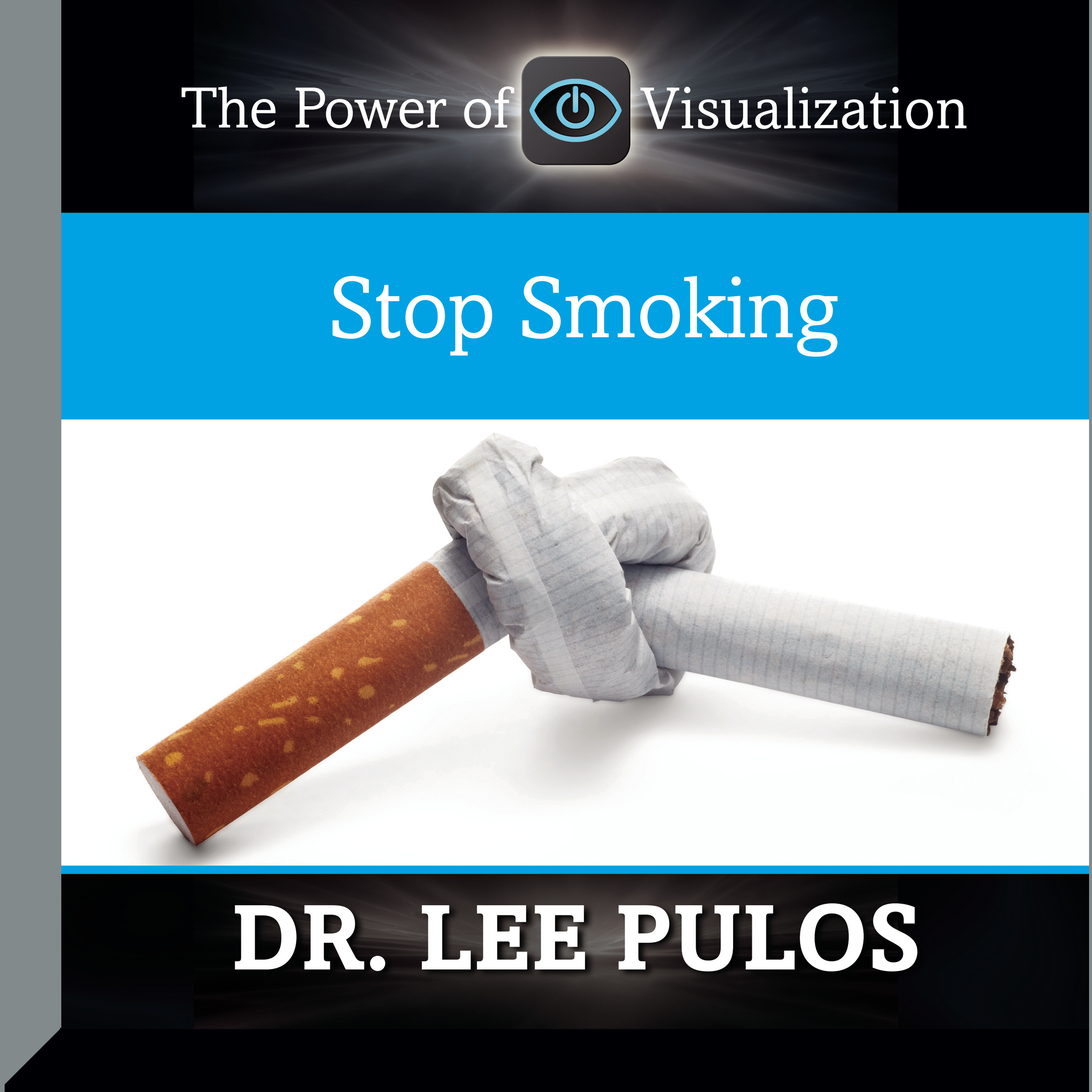 Printable Stop Smoking Audiobook Cover Art