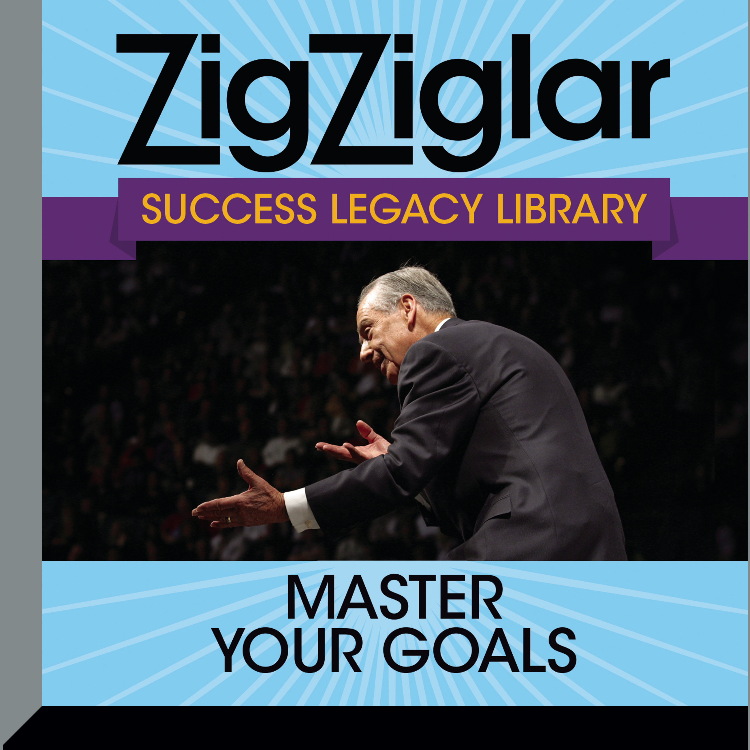 Printable Master Your Goals: Success Legacy Library Audiobook Cover Art