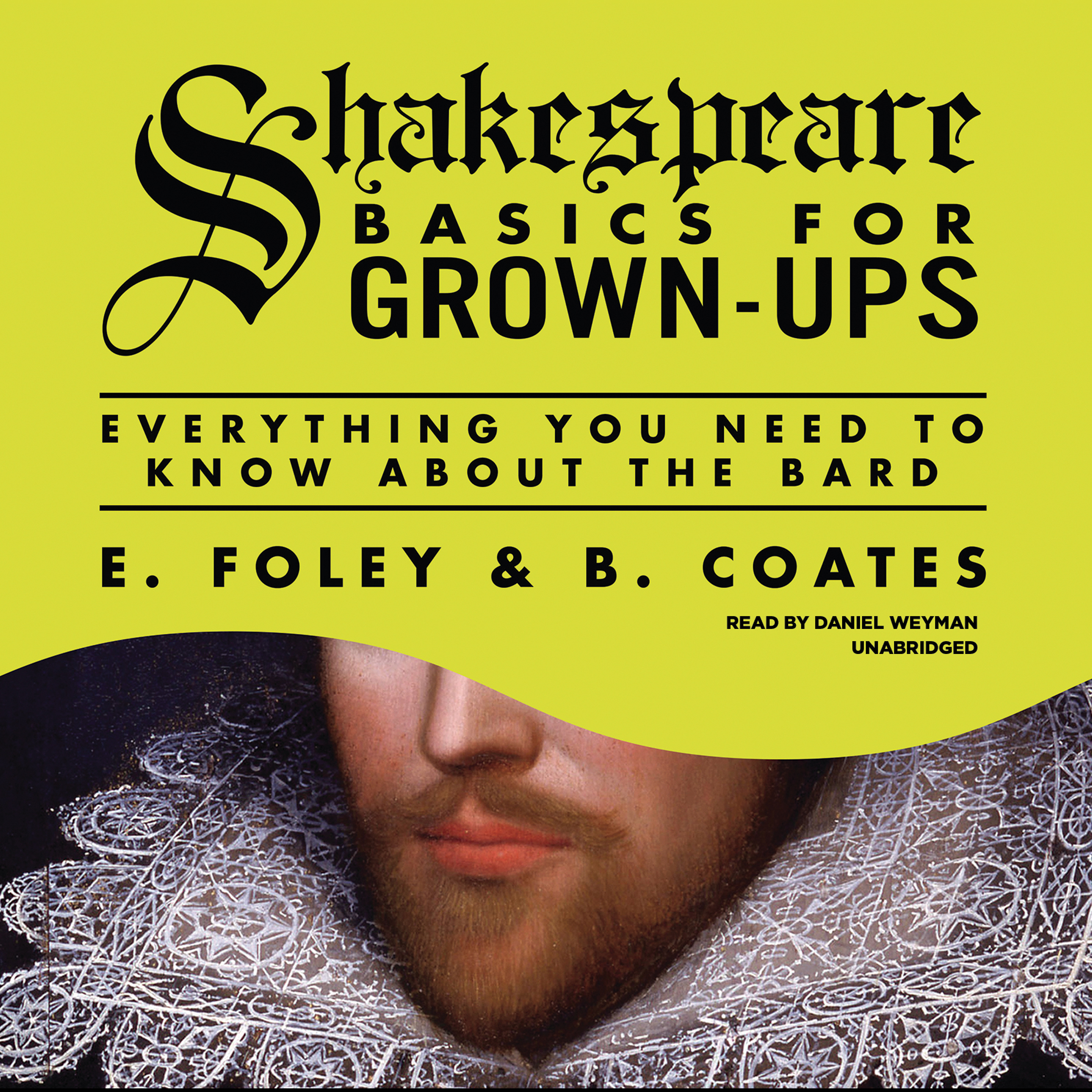 Printable Shakespeare Basics for Grown-Ups: Everything You Need to Know About the Bard Audiobook Cover Art