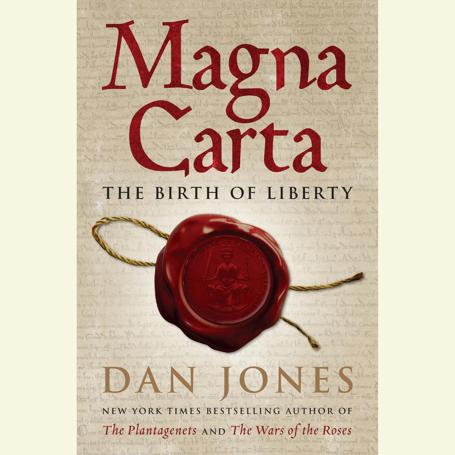 Printable Magna Carta: The Birth of Liberty Audiobook Cover Art