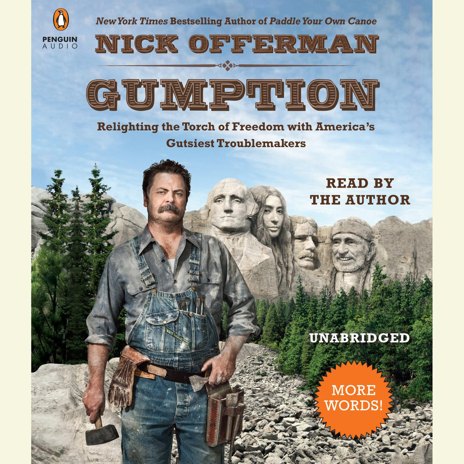 Printable Gumption: Relighting the Torch of Freedom with America's Gutsiest Troublemakers Audiobook Cover Art