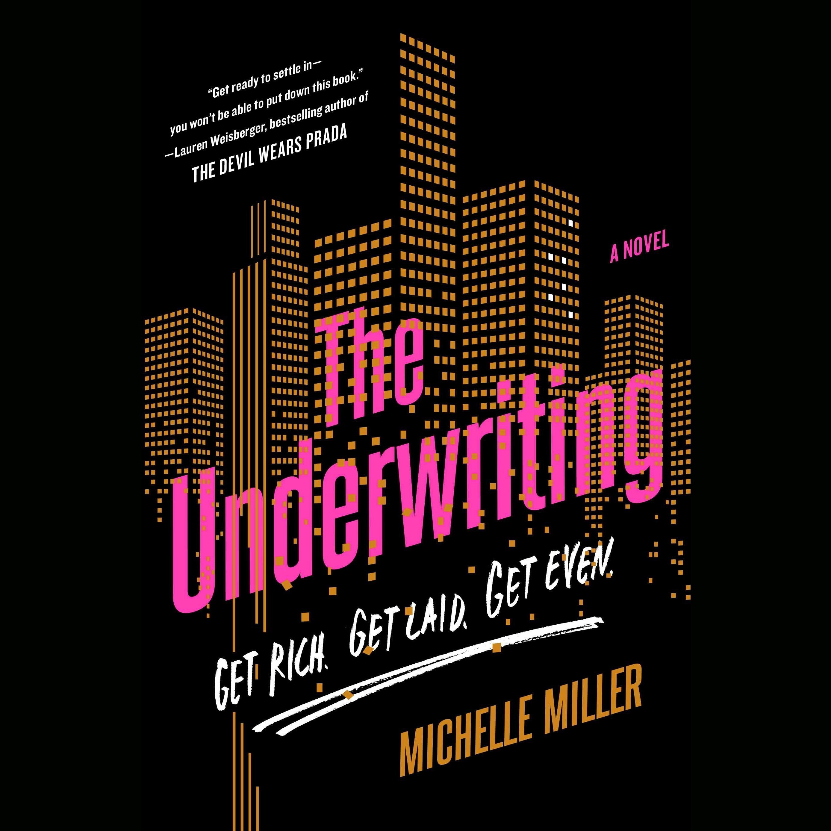 Printable The Underwriting Audiobook Cover Art
