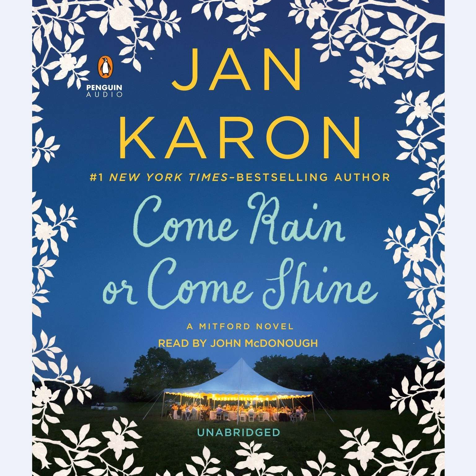 Printable Come Rain or Come Shine Audiobook Cover Art