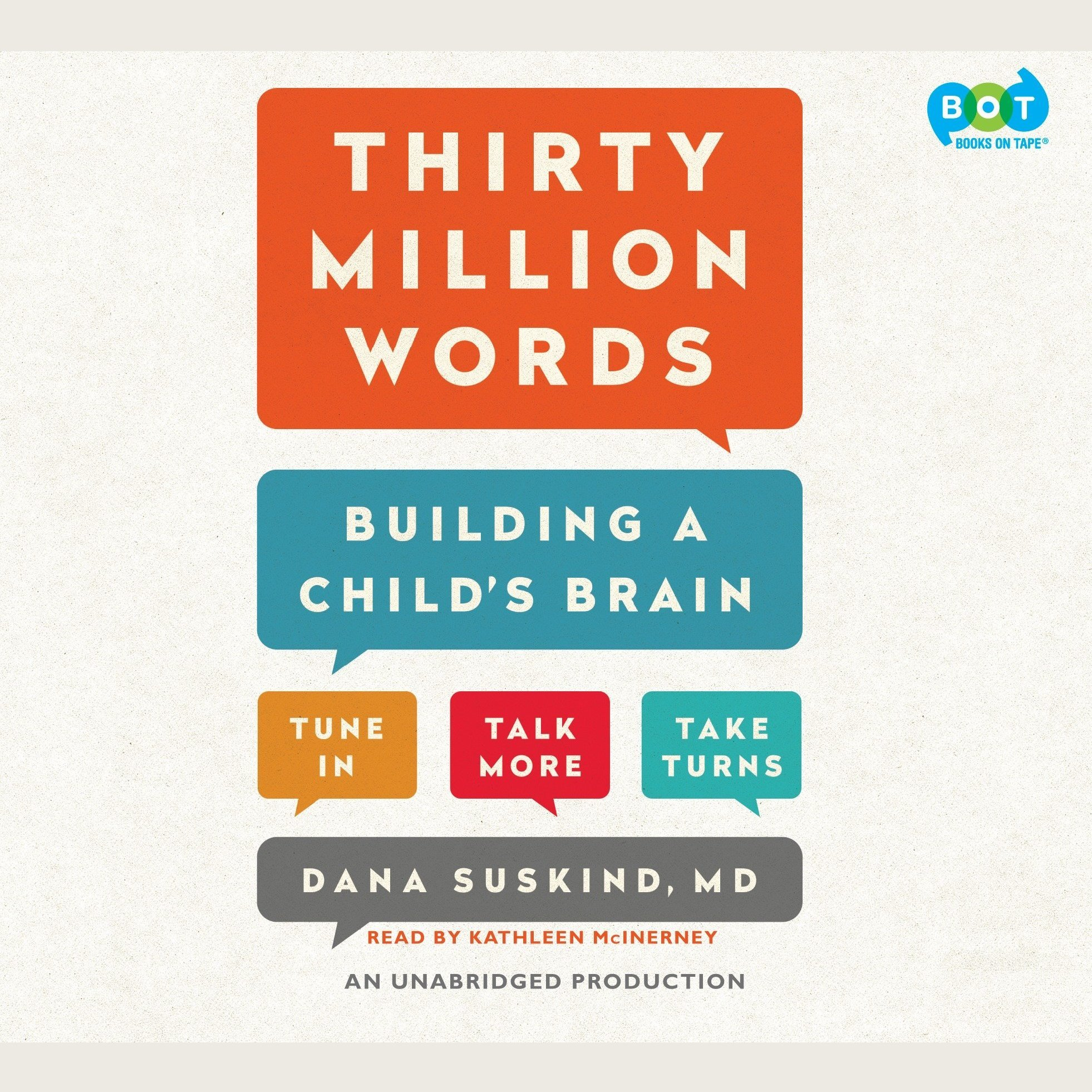 Printable Thirty Million Words: Building a Child's Brain Audiobook Cover Art