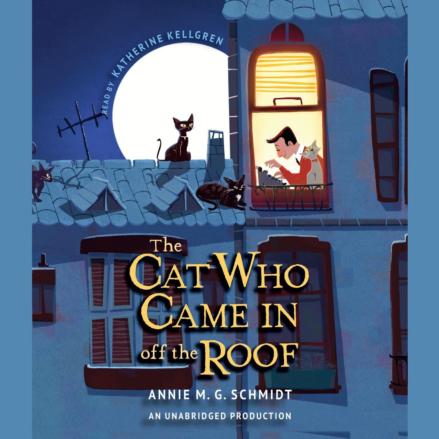 Printable The Cat Who Came In off the Roof Audiobook Cover Art