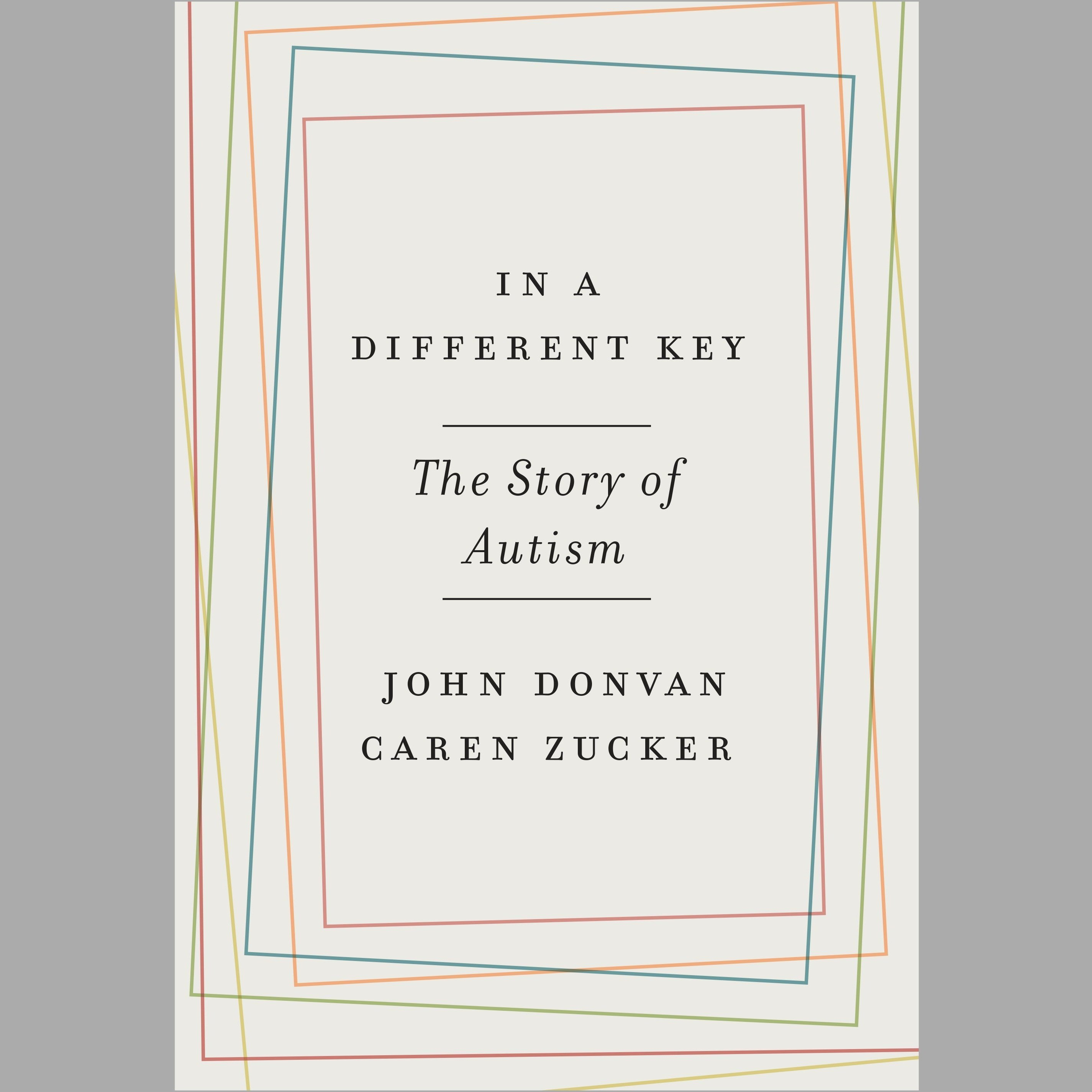 Printable In a Different Key: The Story of Autism Audiobook Cover Art