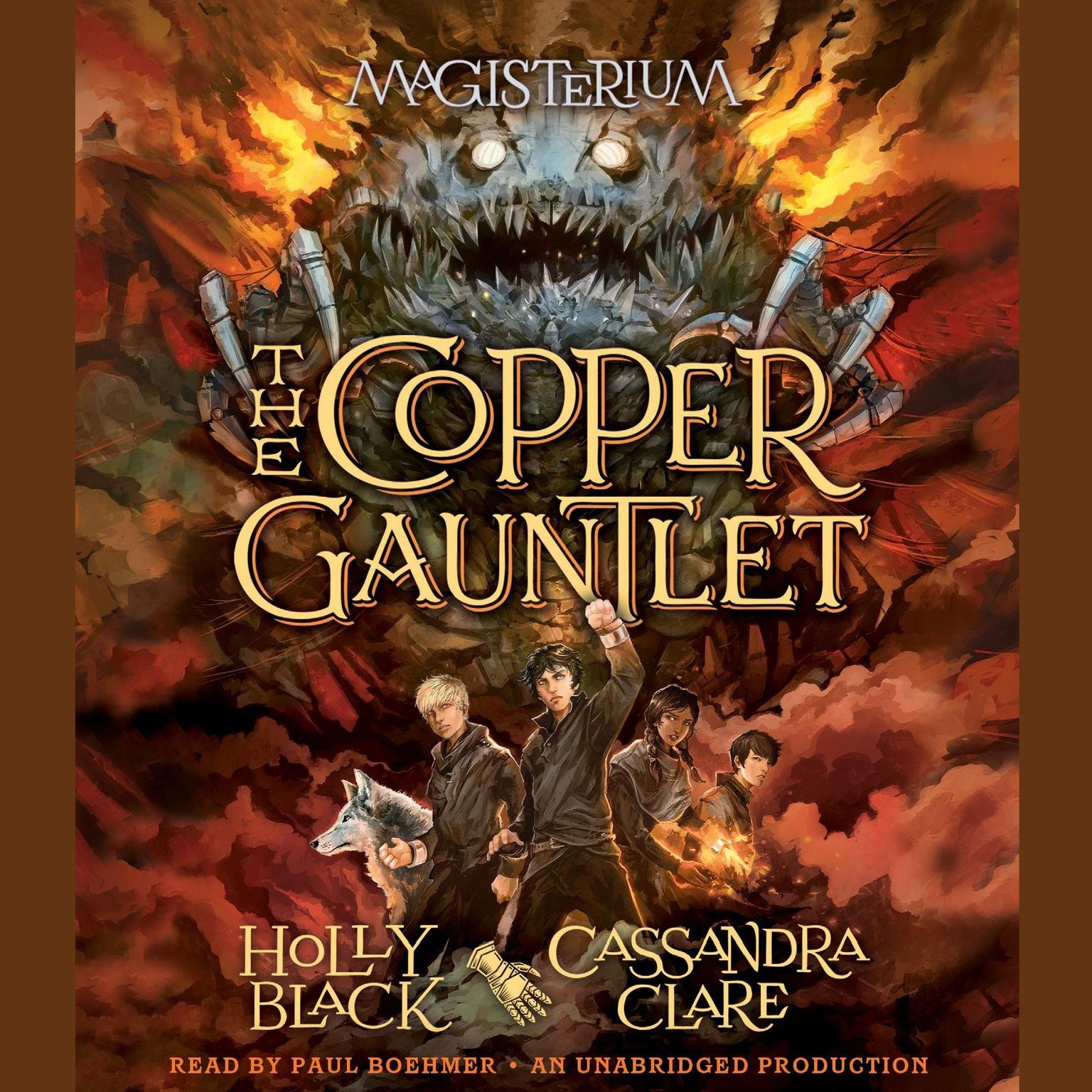 Printable The Copper Gauntlet: Magisterium Book 2 Audiobook Cover Art