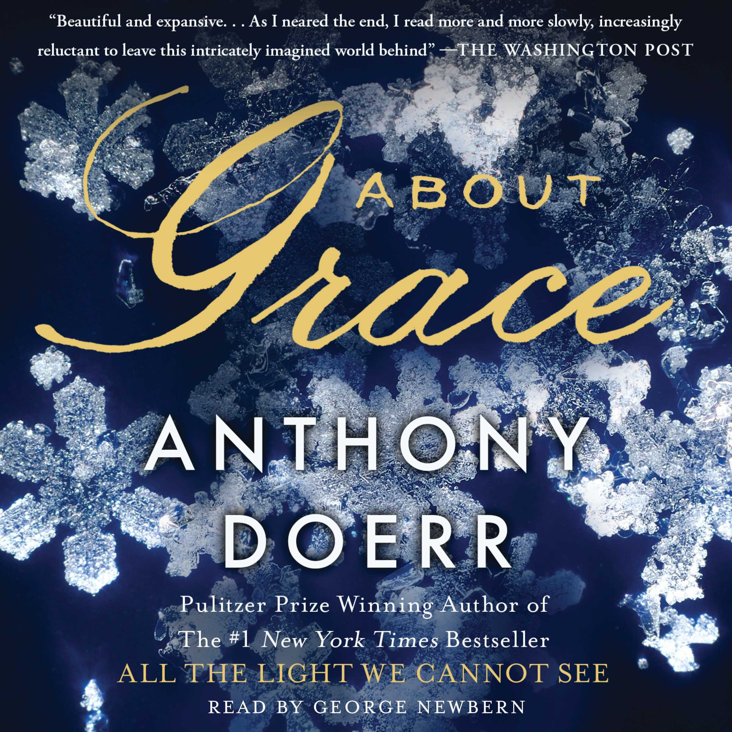 Printable About Grace: A Novel Audiobook Cover Art
