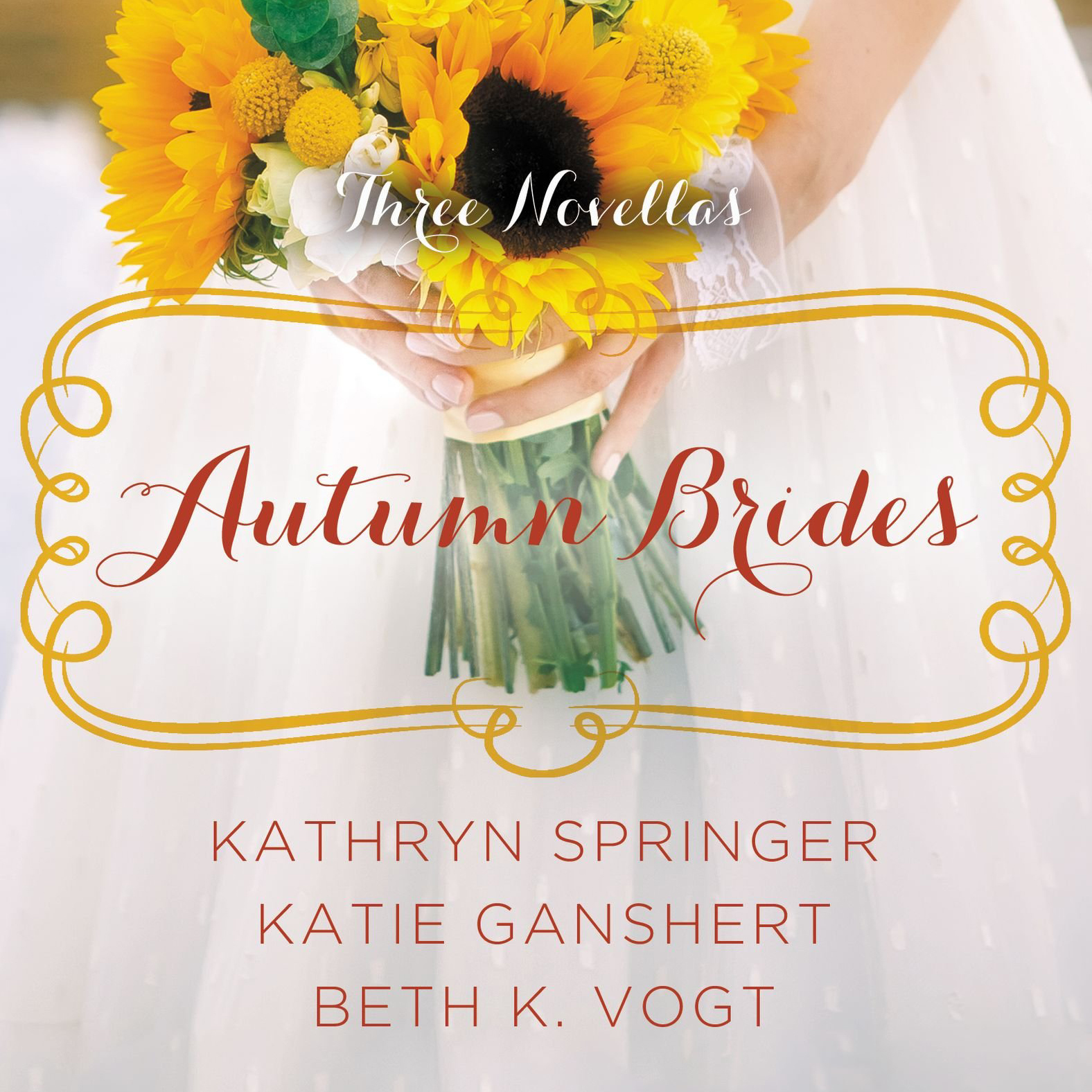 Printable Autumn Brides: A Year of Weddings Novella Collection Audiobook Cover Art