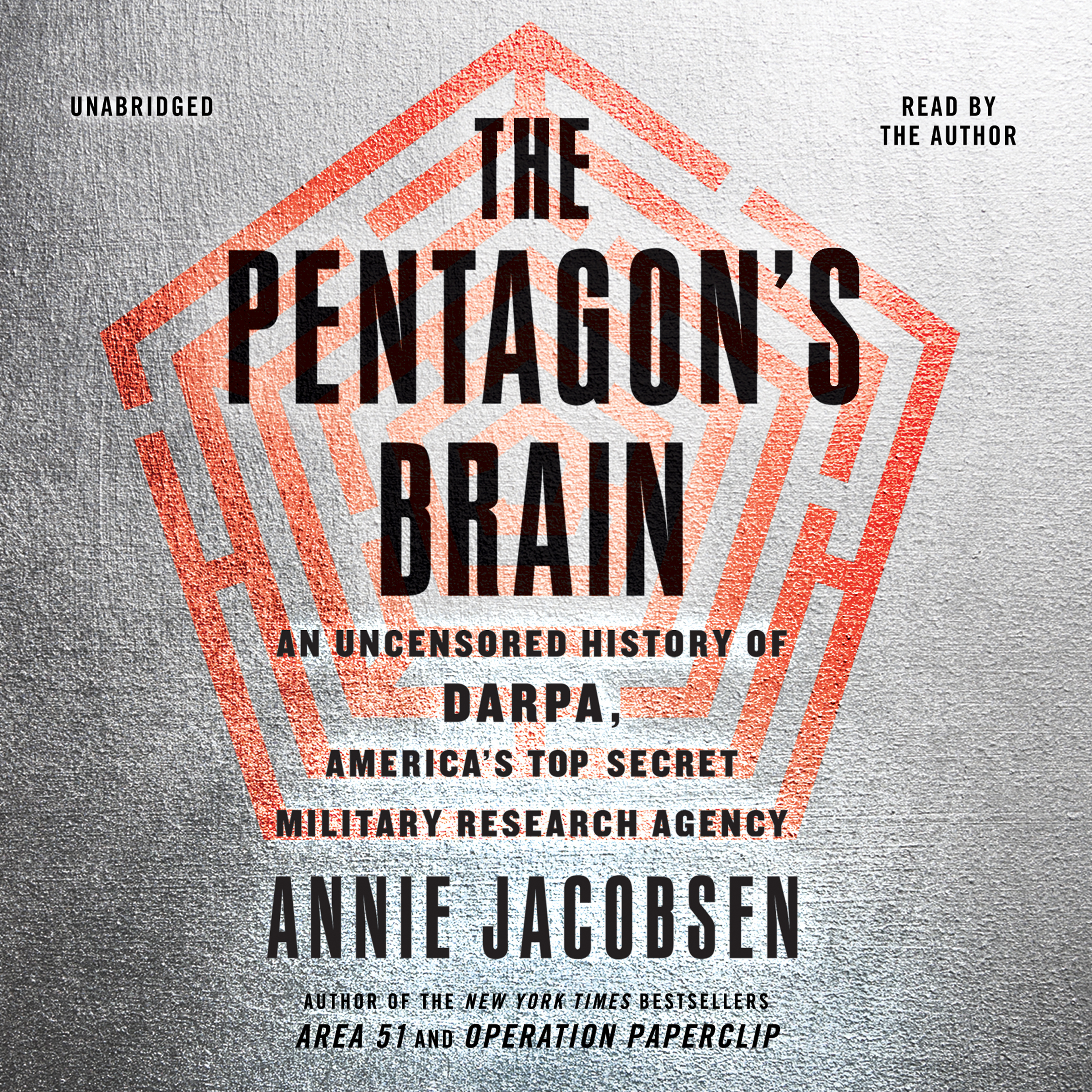 Printable The Pentagon's Brain: An Uncensored History of DARPA, America's Top-Secret Military Research Agency Audiobook Cover Art