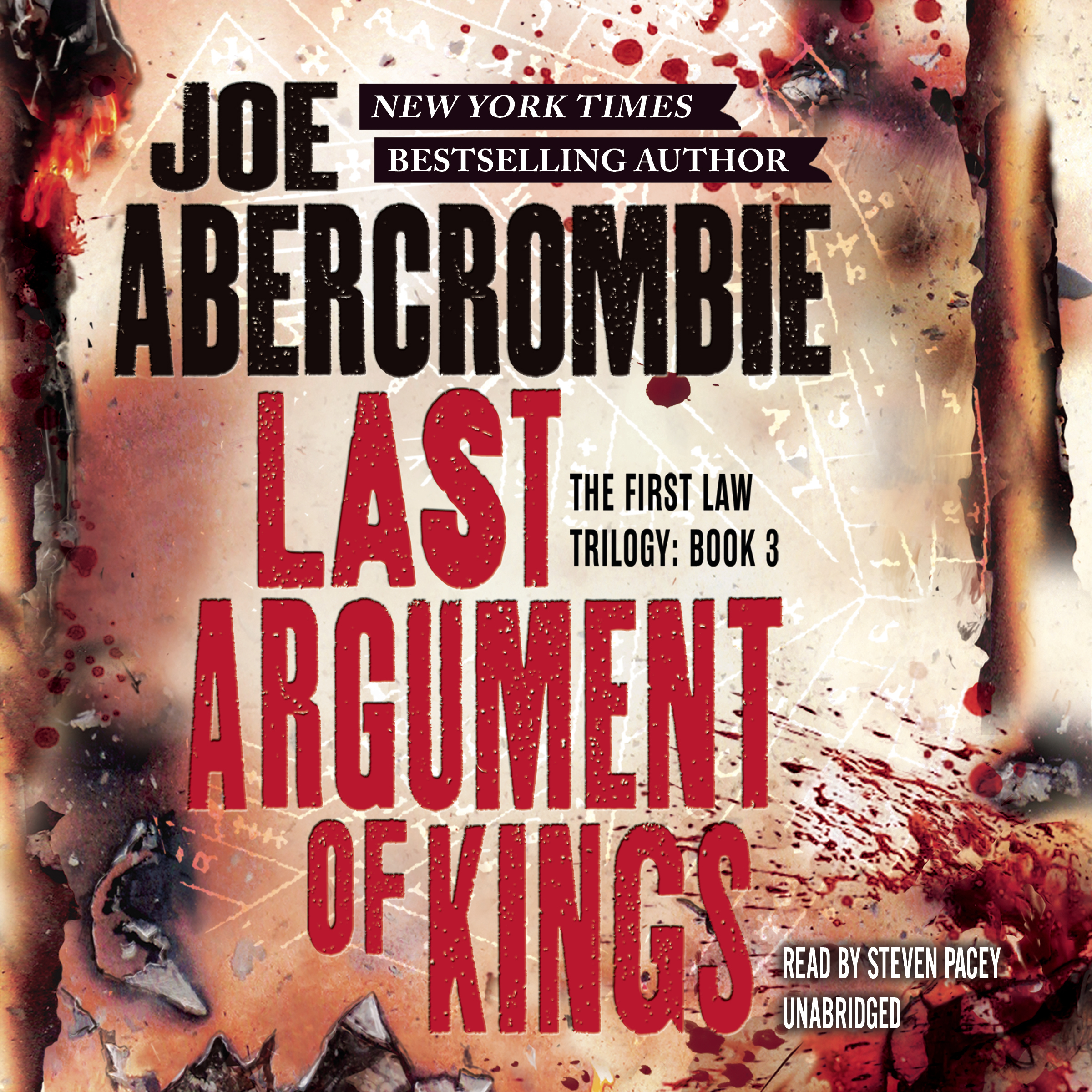 Printable Last Argument of Kings Audiobook Cover Art