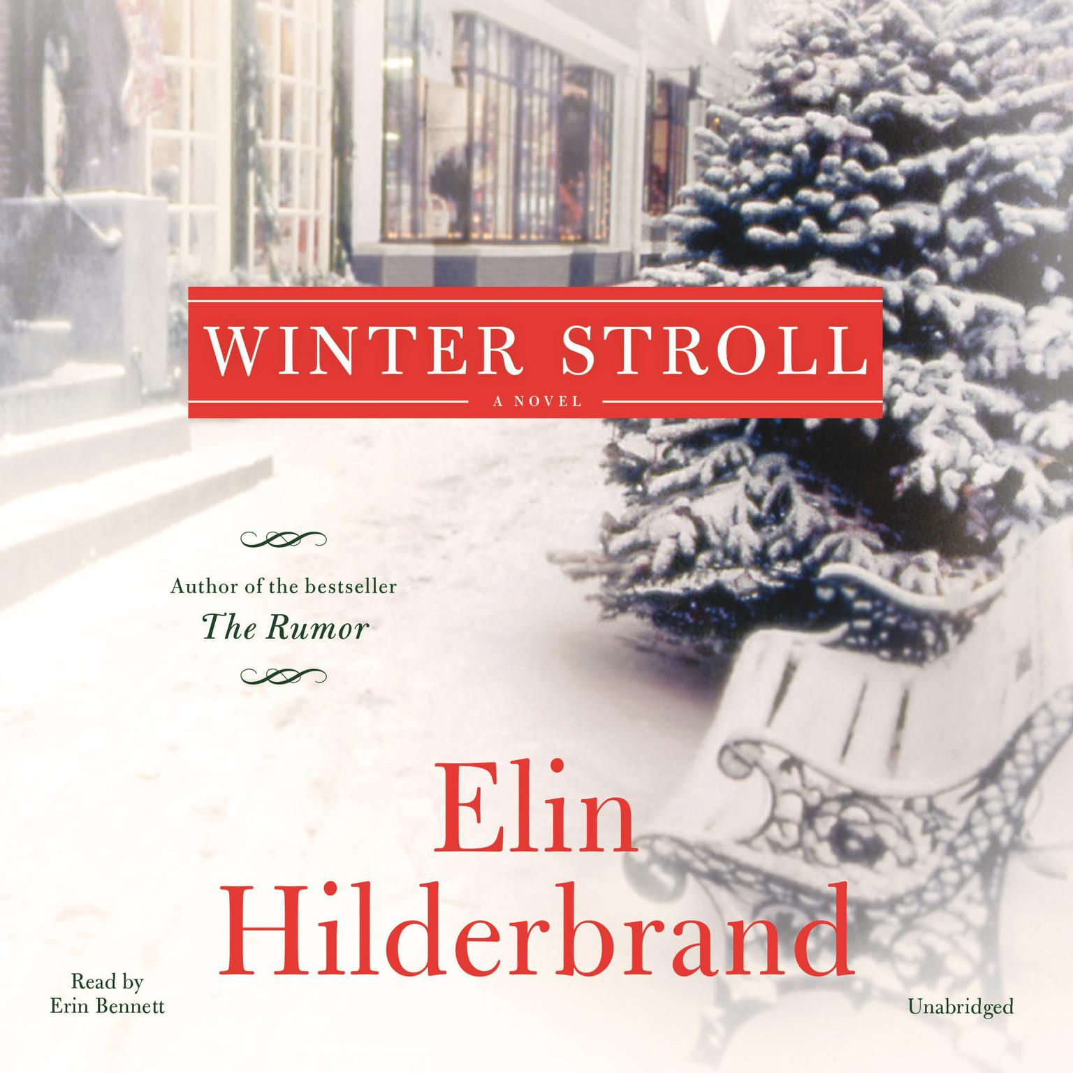 Printable Winter Stroll Audiobook Cover Art