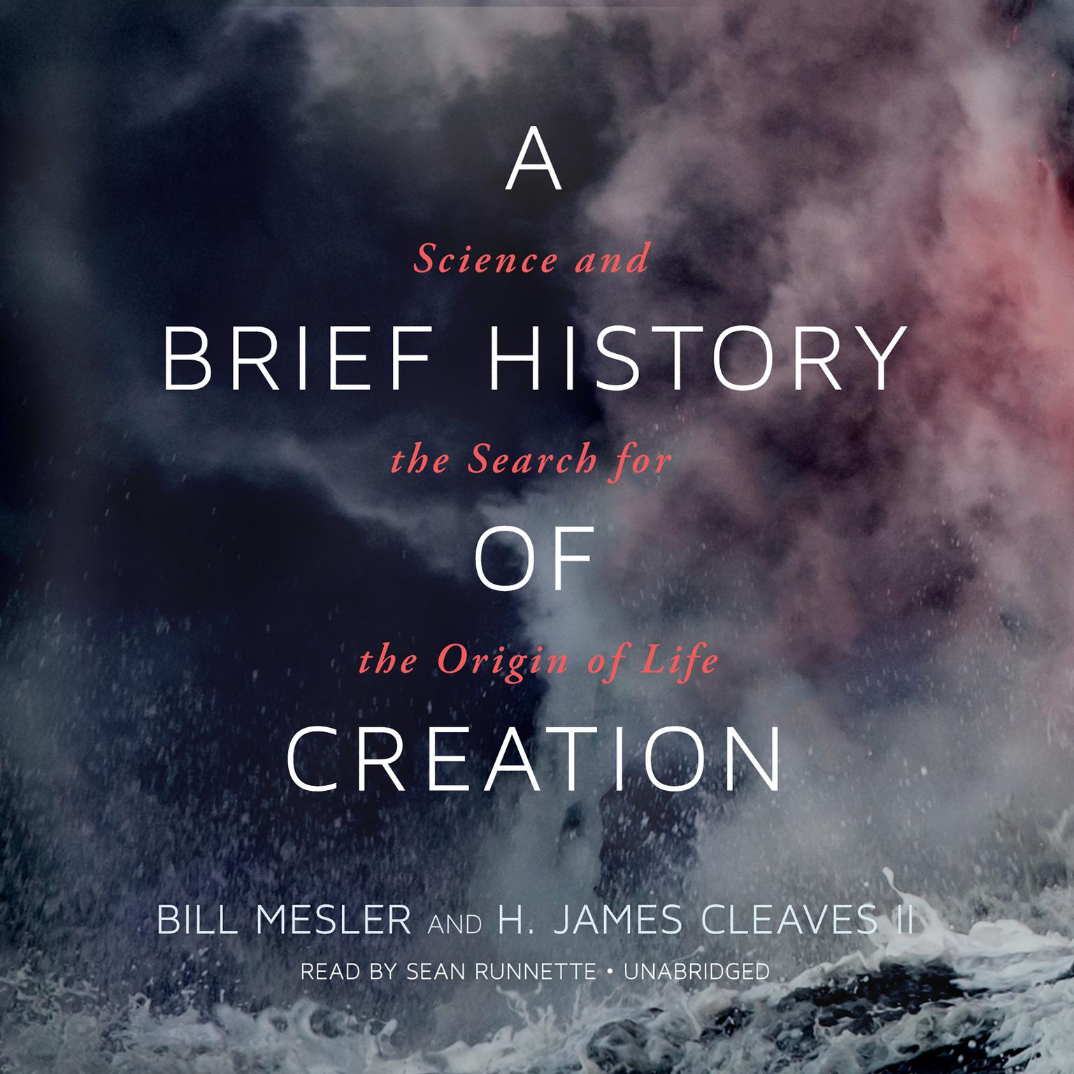 Printable A Brief History of Creation: Science and the Search for the Origin of Life Audiobook Cover Art