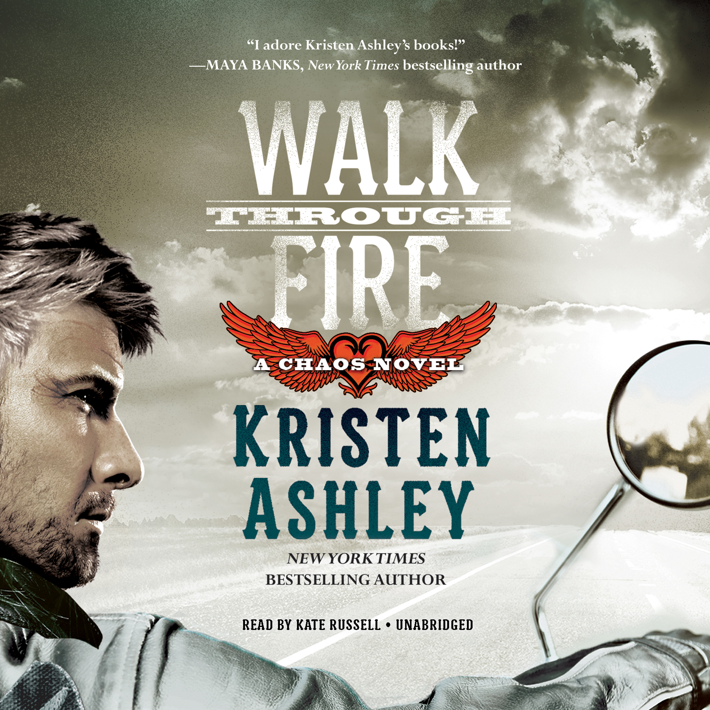 Printable Walk through Fire Audiobook Cover Art