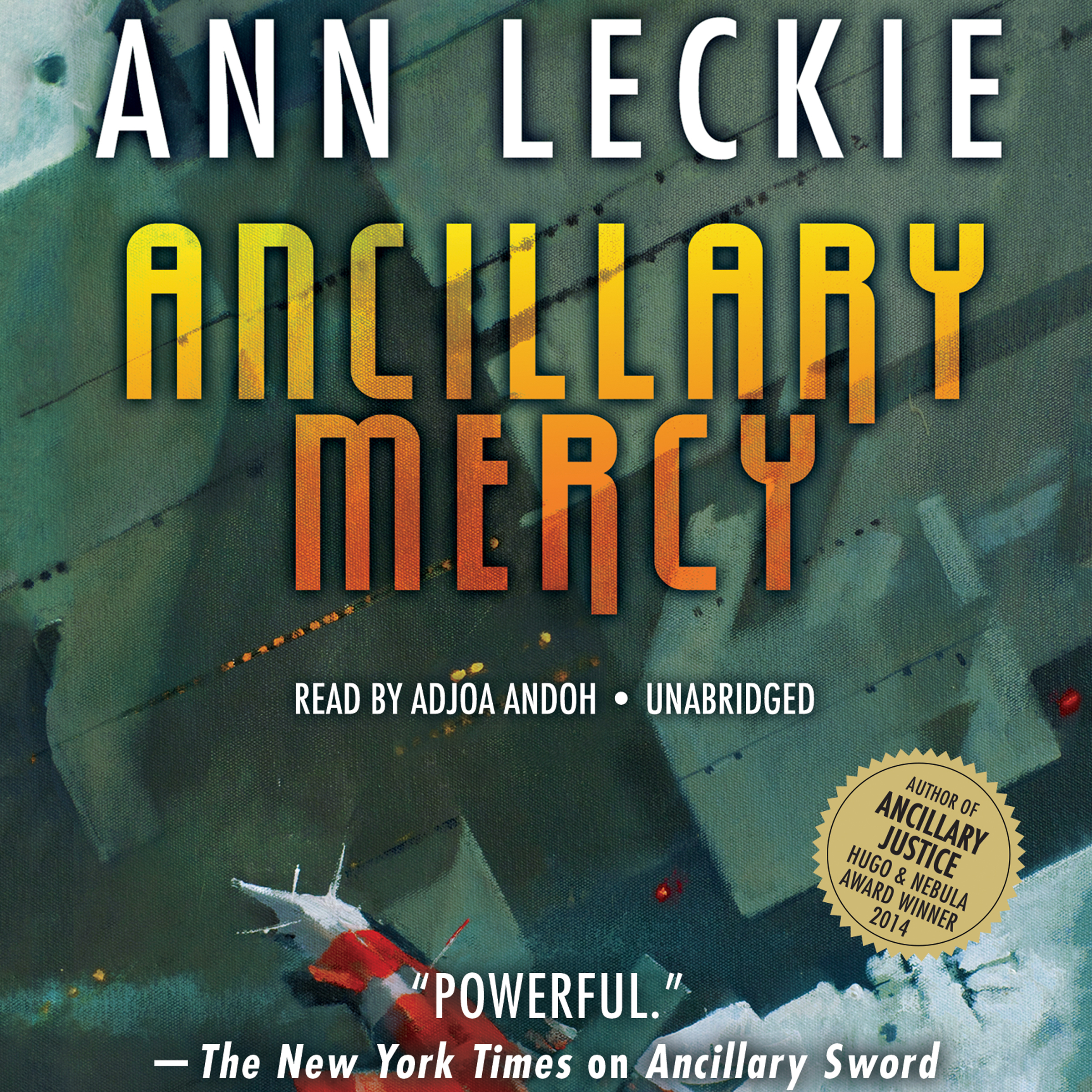 Printable Ancillary Mercy Audiobook Cover Art