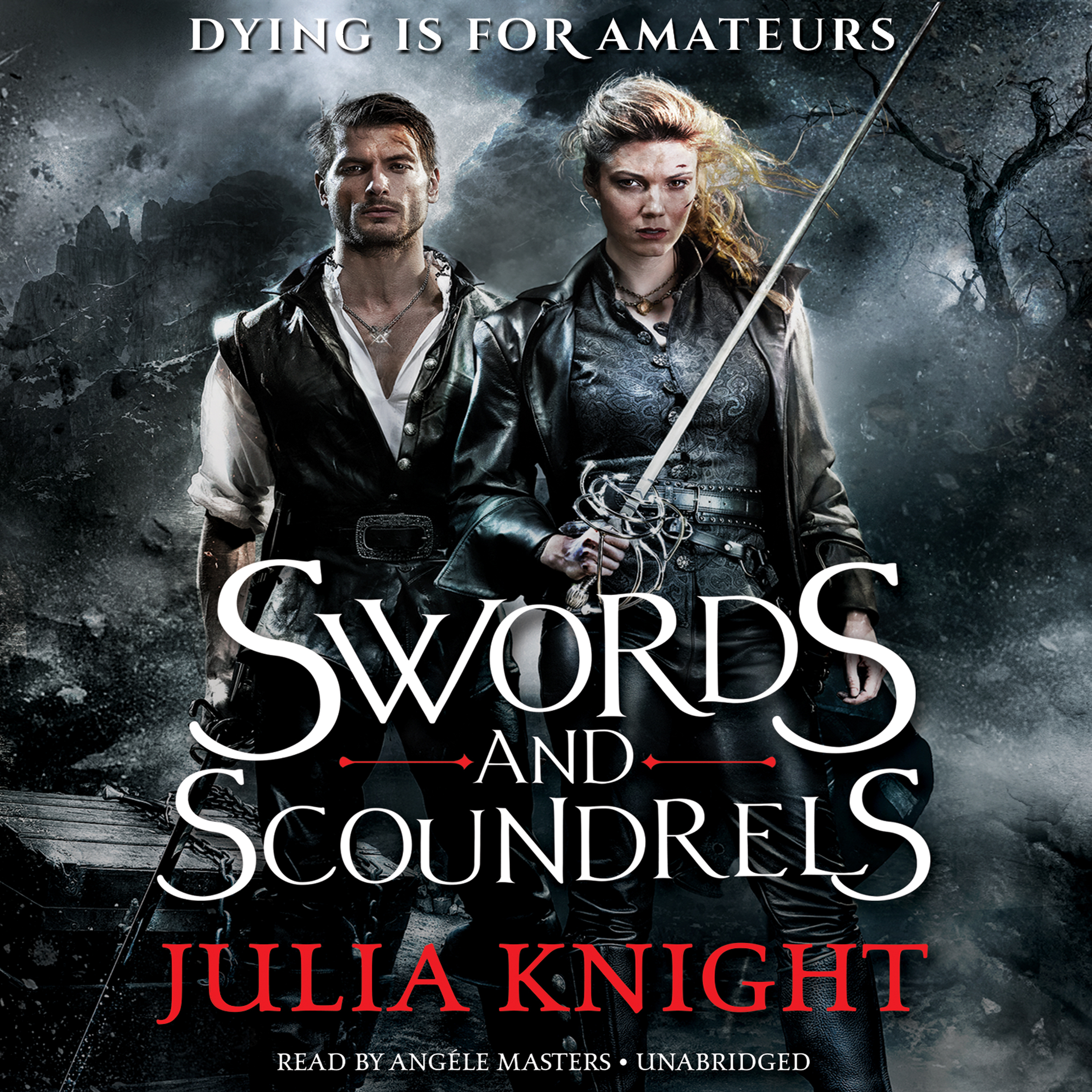Printable Swords and Scoundrels Audiobook Cover Art