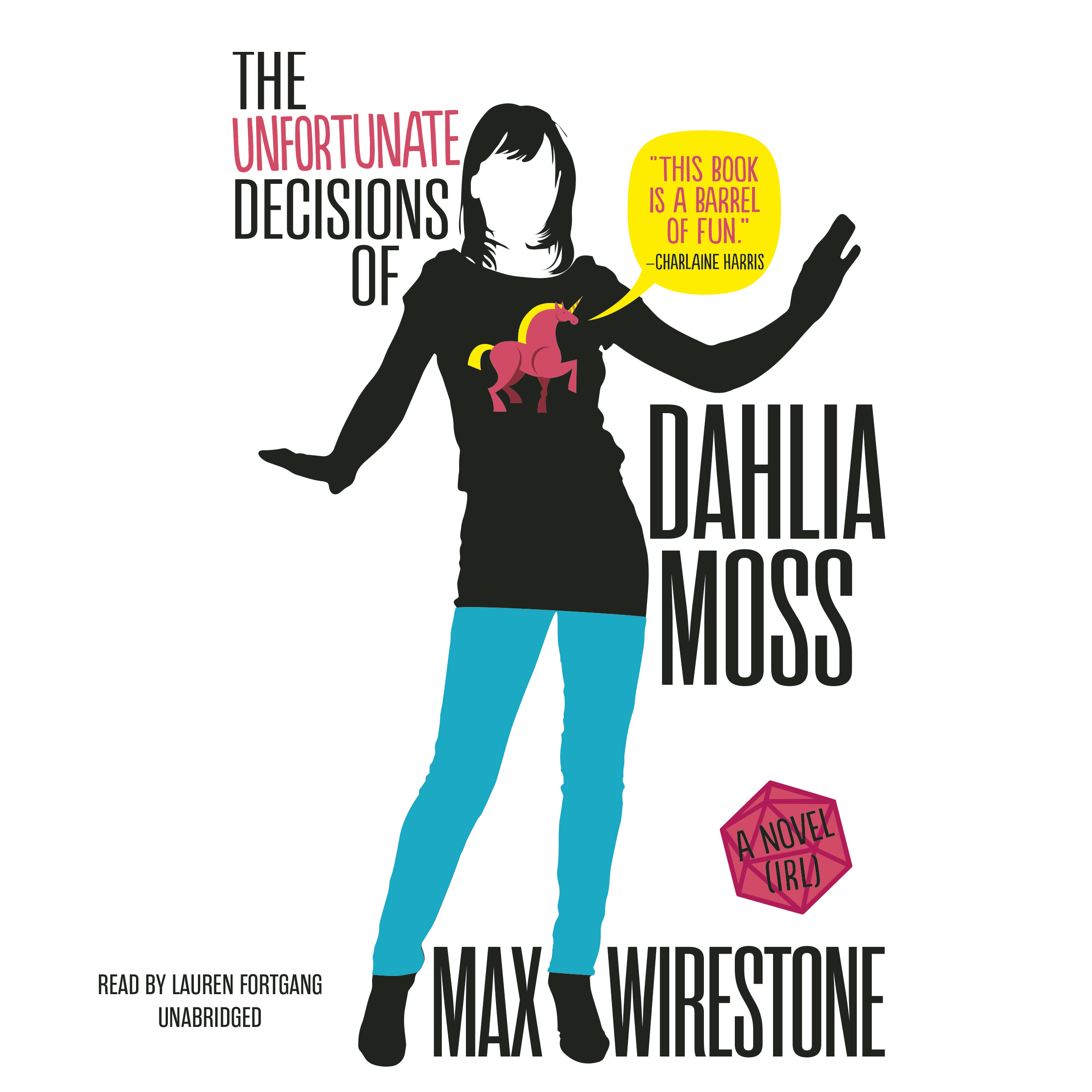 Printable The Unfortunate Decisions of Dahlia Moss Audiobook Cover Art