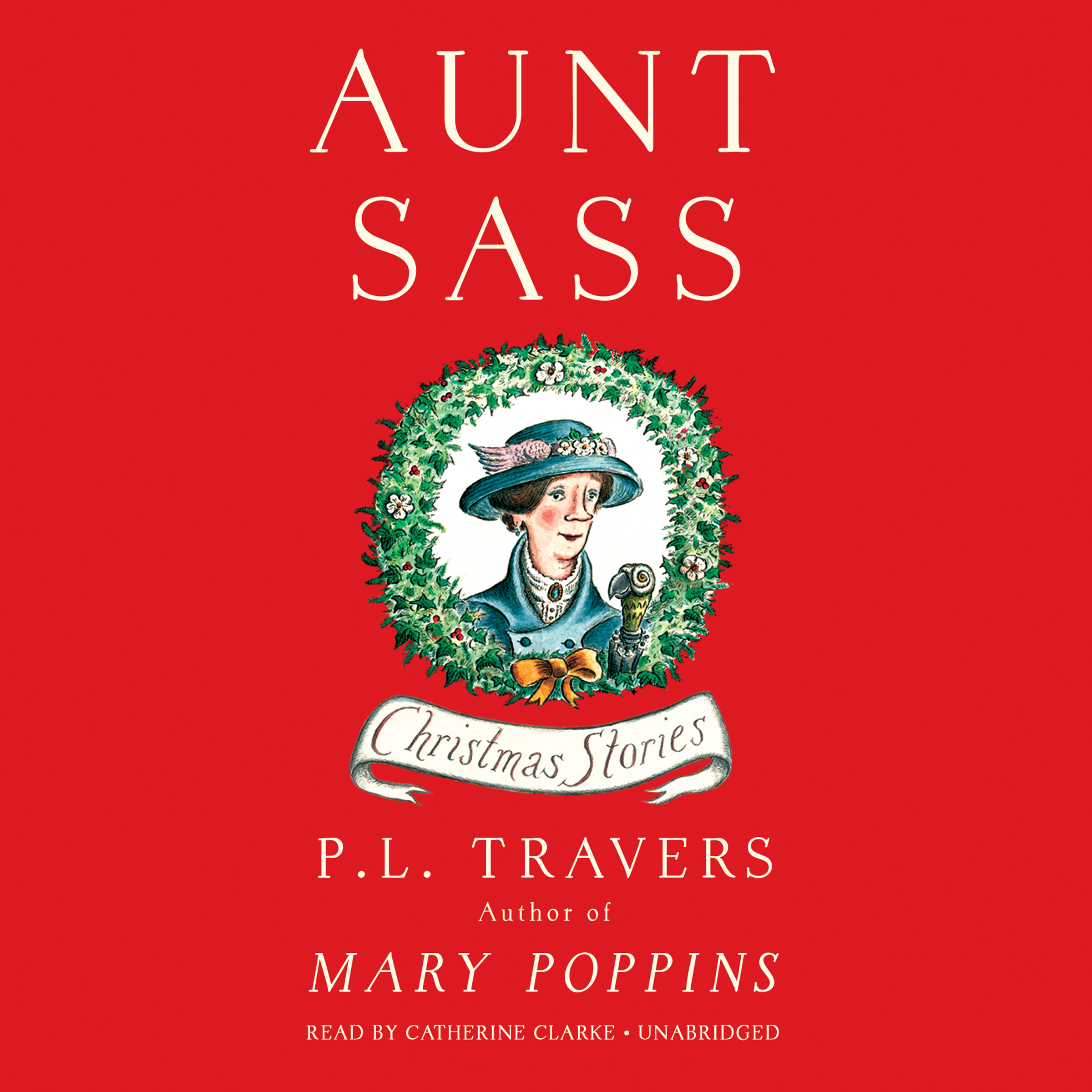 Printable Aunt Sass: Christmas Stories Audiobook Cover Art