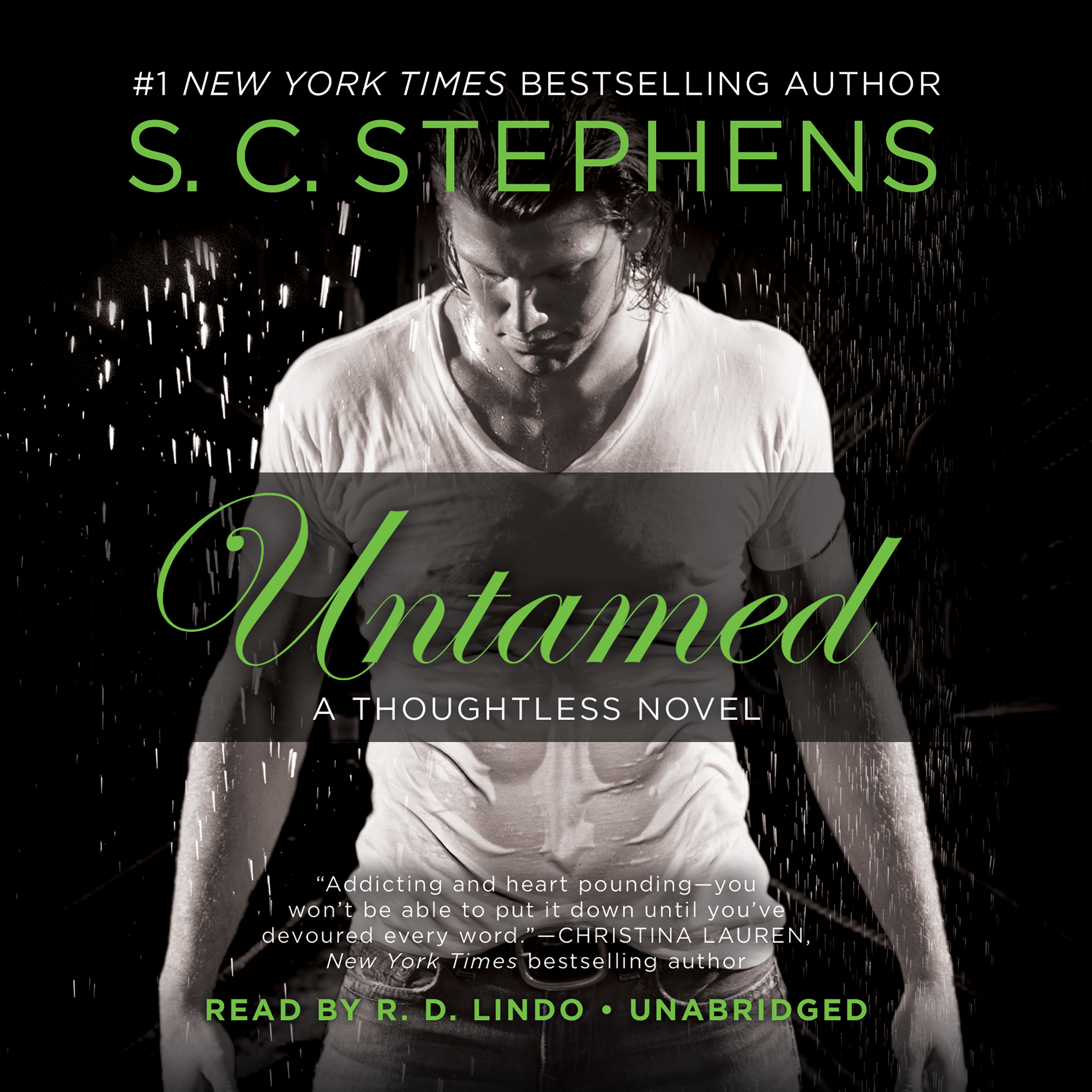Printable Untamed: A Thoughtless Novel Audiobook Cover Art