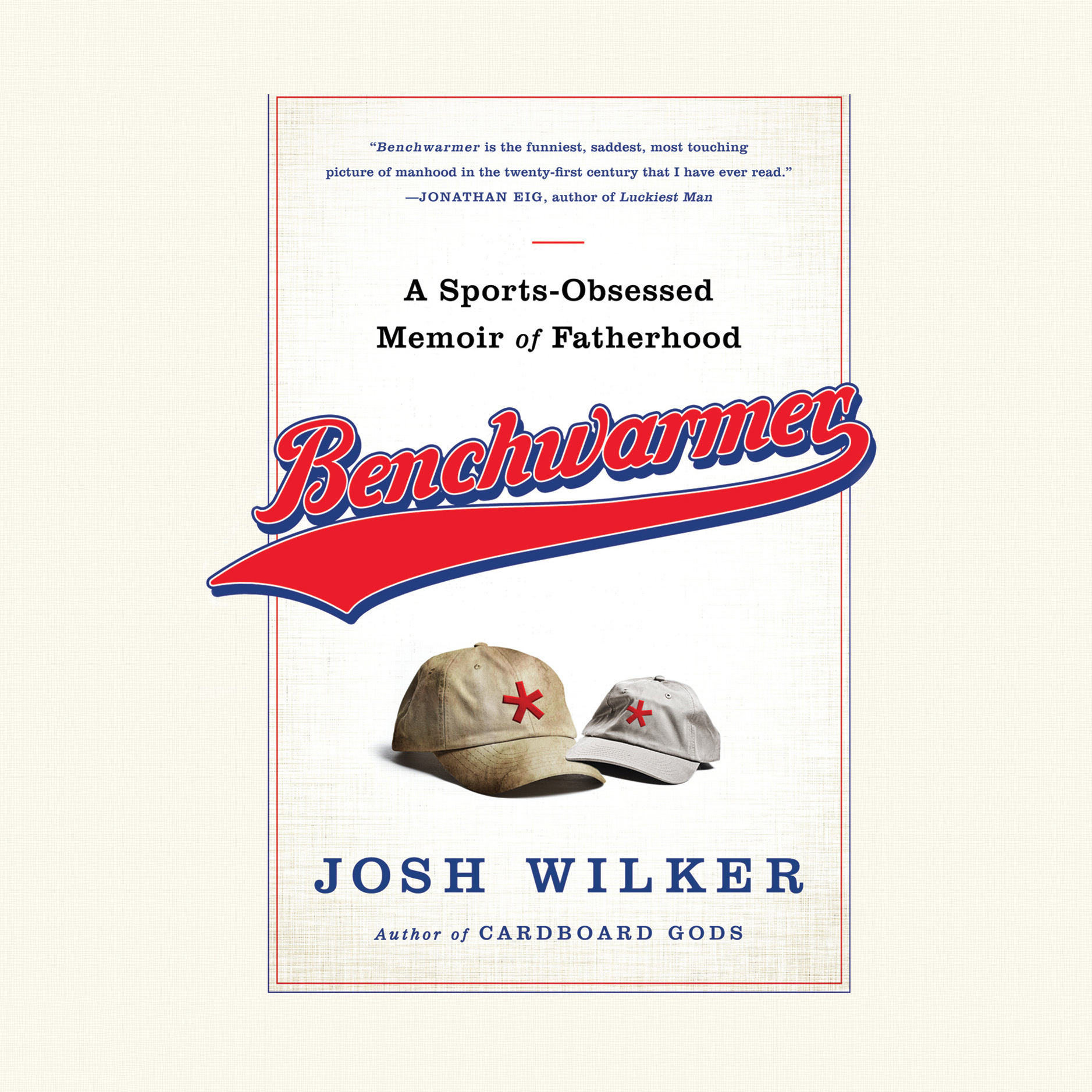 Printable Benchwarmer: A Sports-Obsessed Memoir of Fatherhood Audiobook Cover Art