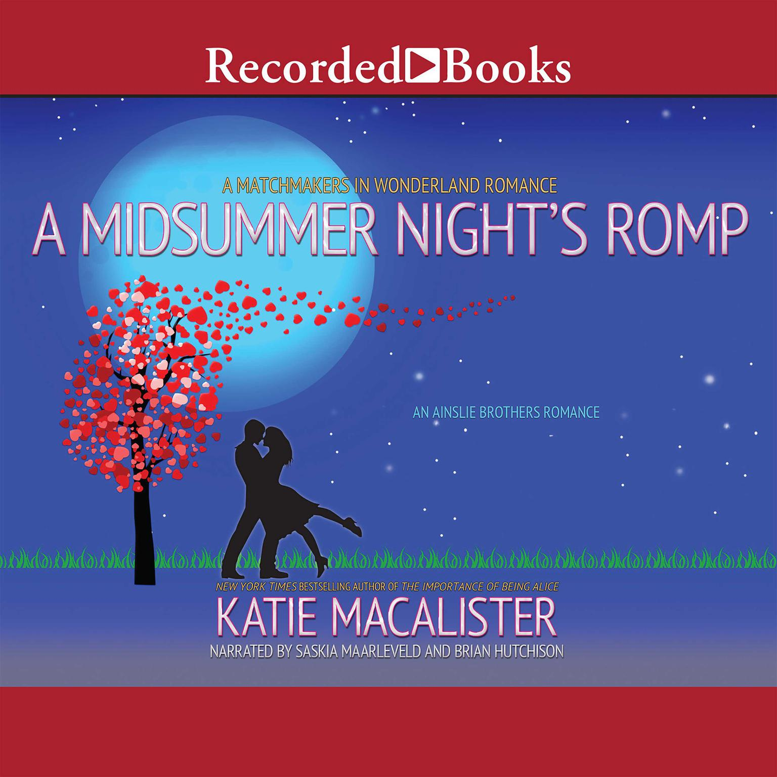 Printable A Midsummer Night's Romp Audiobook Cover Art