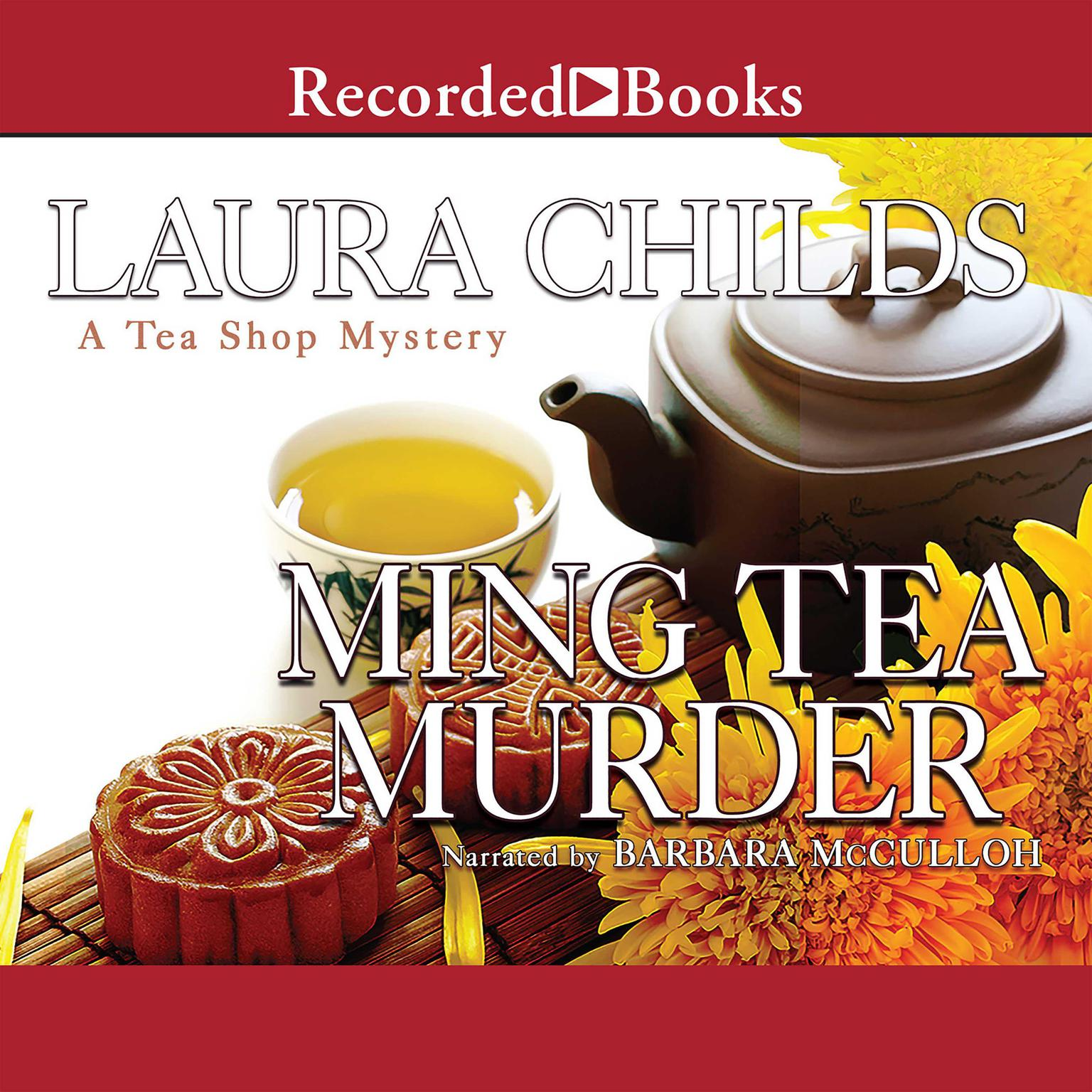 Printable Ming Tea Murder Audiobook Cover Art