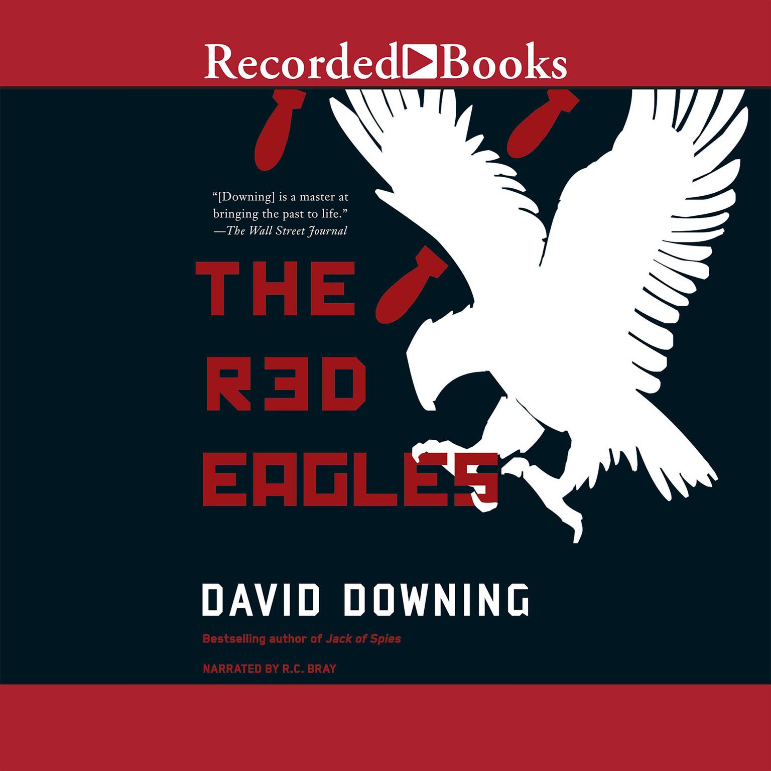 Printable The Red Eagles Audiobook Cover Art