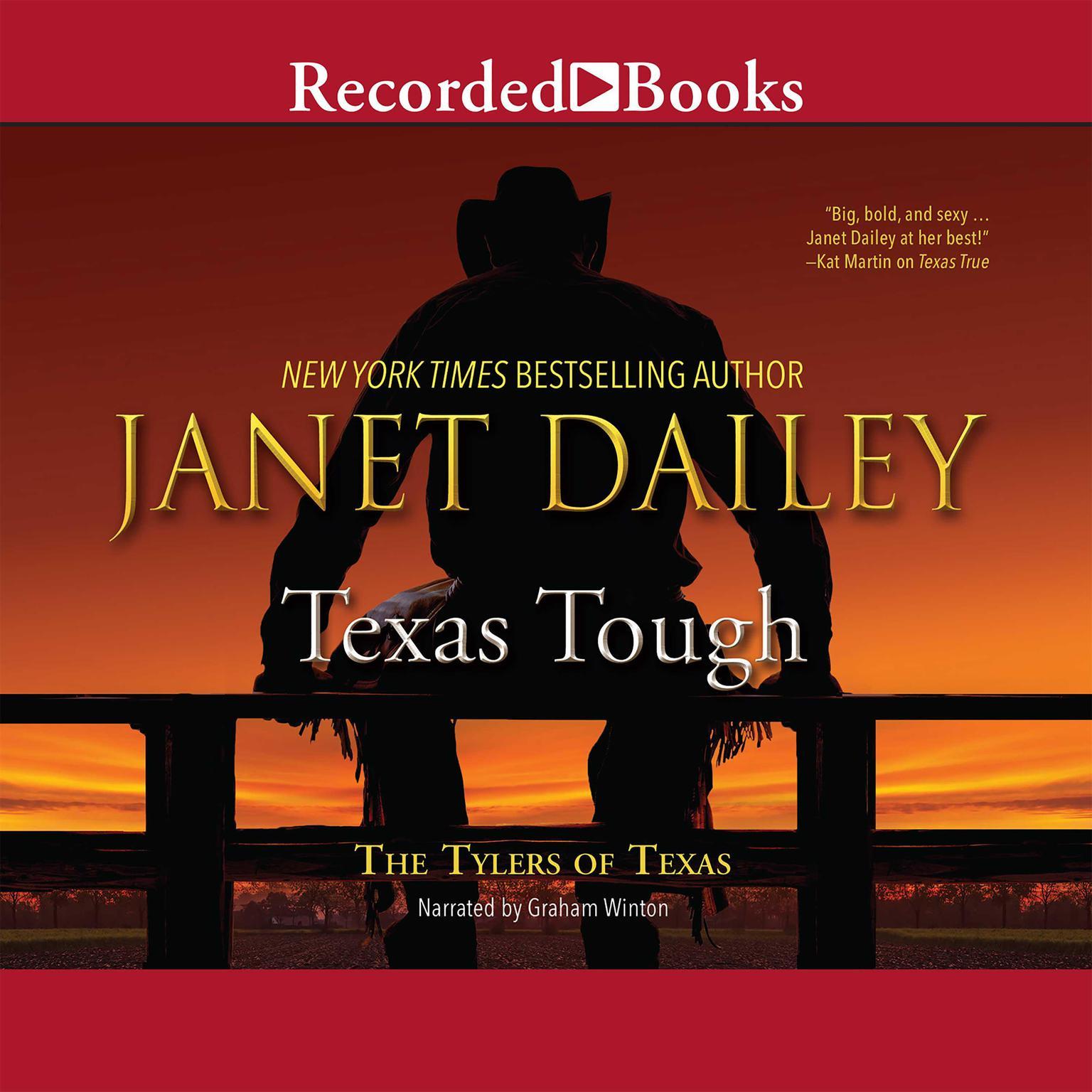 Printable Texas Tough Audiobook Cover Art