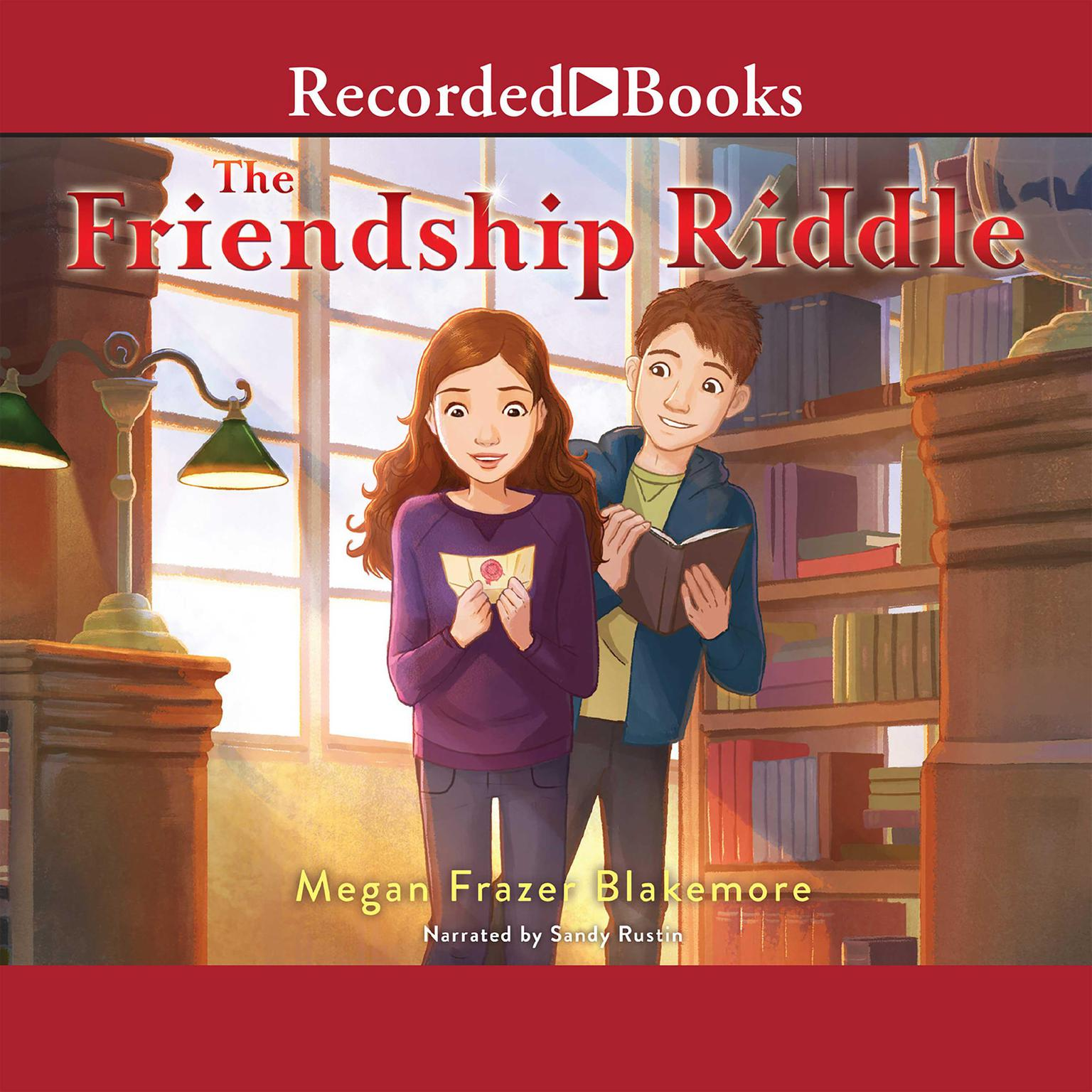 Printable The Friendship Riddle Audiobook Cover Art