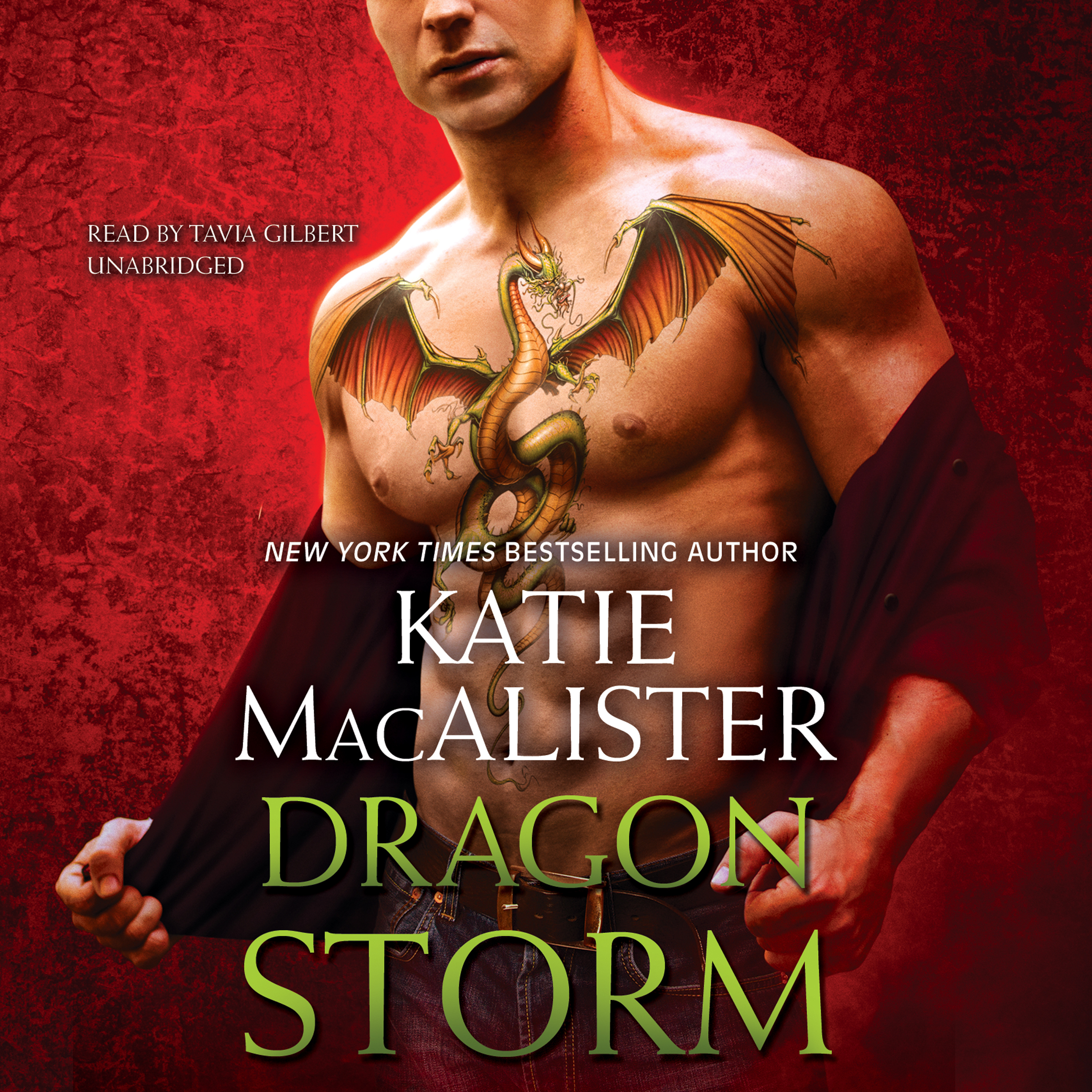 Printable Dragon Storm Audiobook Cover Art
