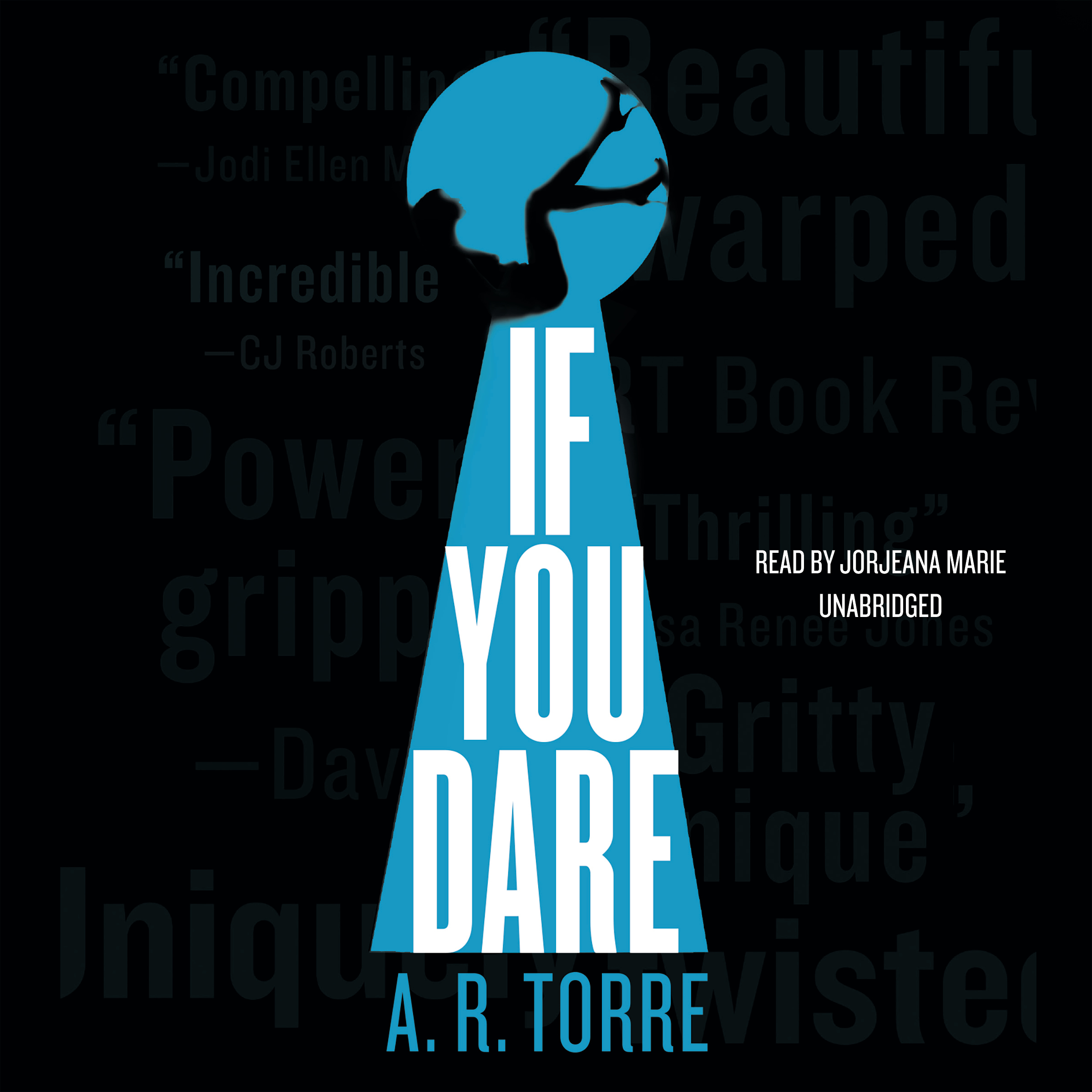 Printable If You Dare Audiobook Cover Art