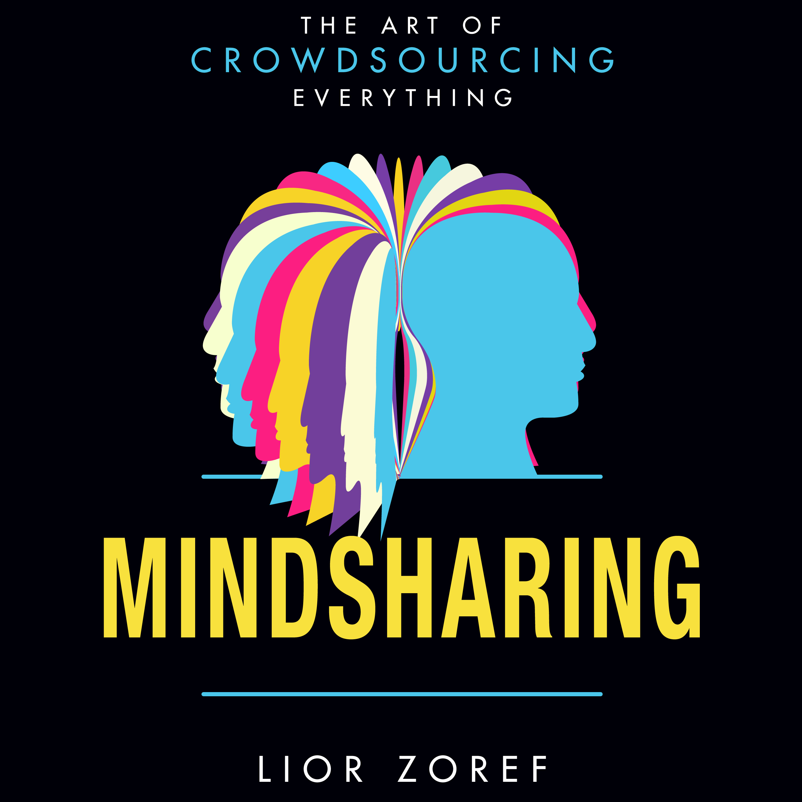 Printable Mindsharing: The Art of Crowdsourcing Everything Audiobook Cover Art