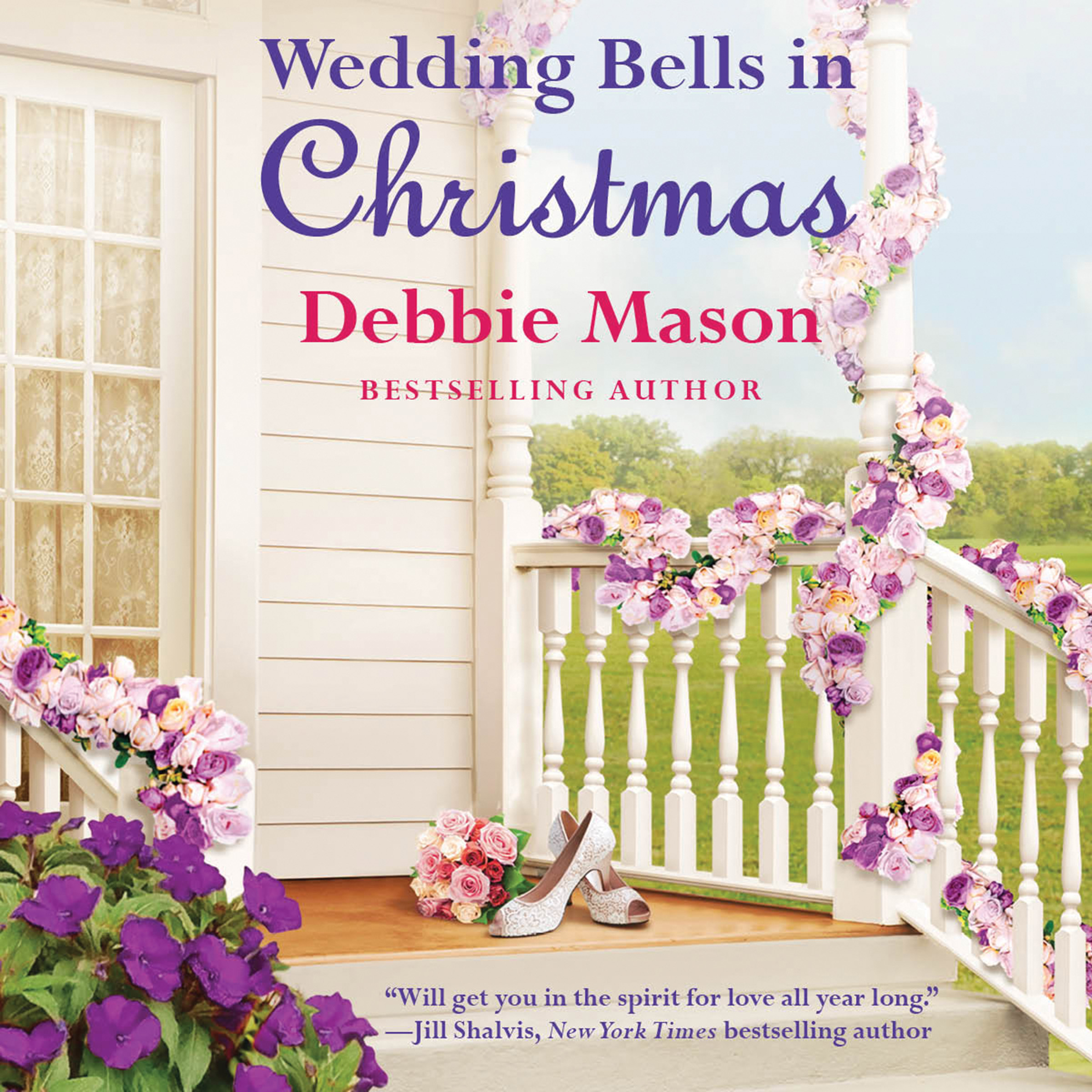 Printable Wedding Bells in Christmas Audiobook Cover Art