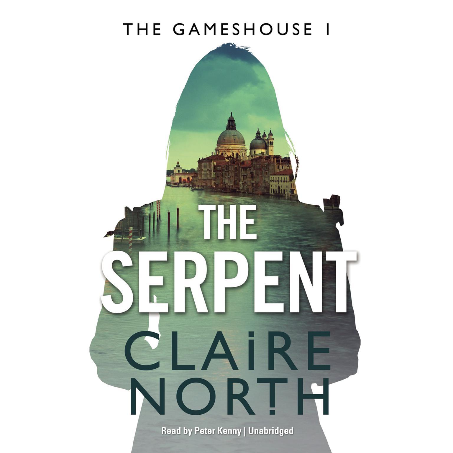 Printable The Serpent: Gameshouse Novella 1 Audiobook Cover Art