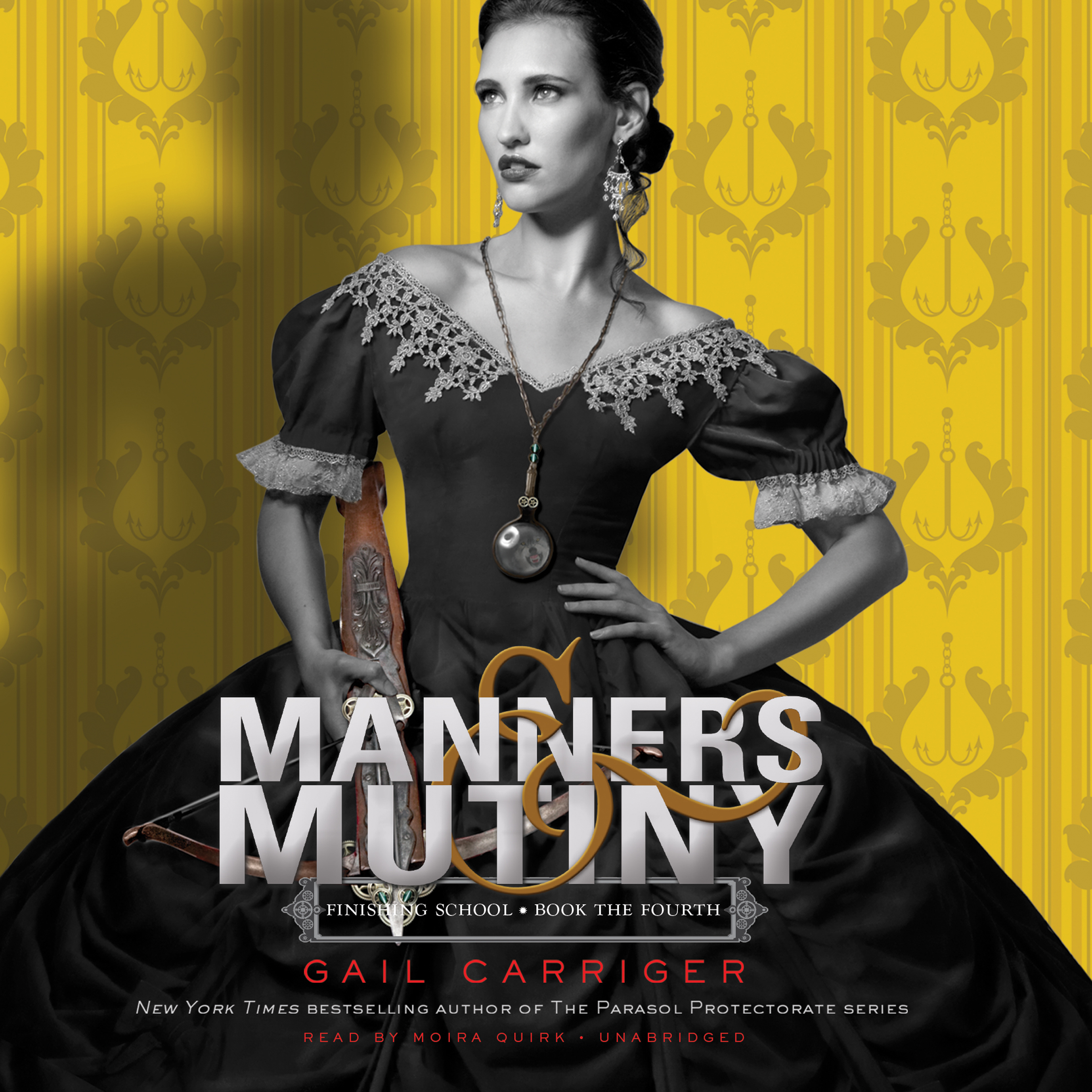 Printable Manners & Mutiny Audiobook Cover Art