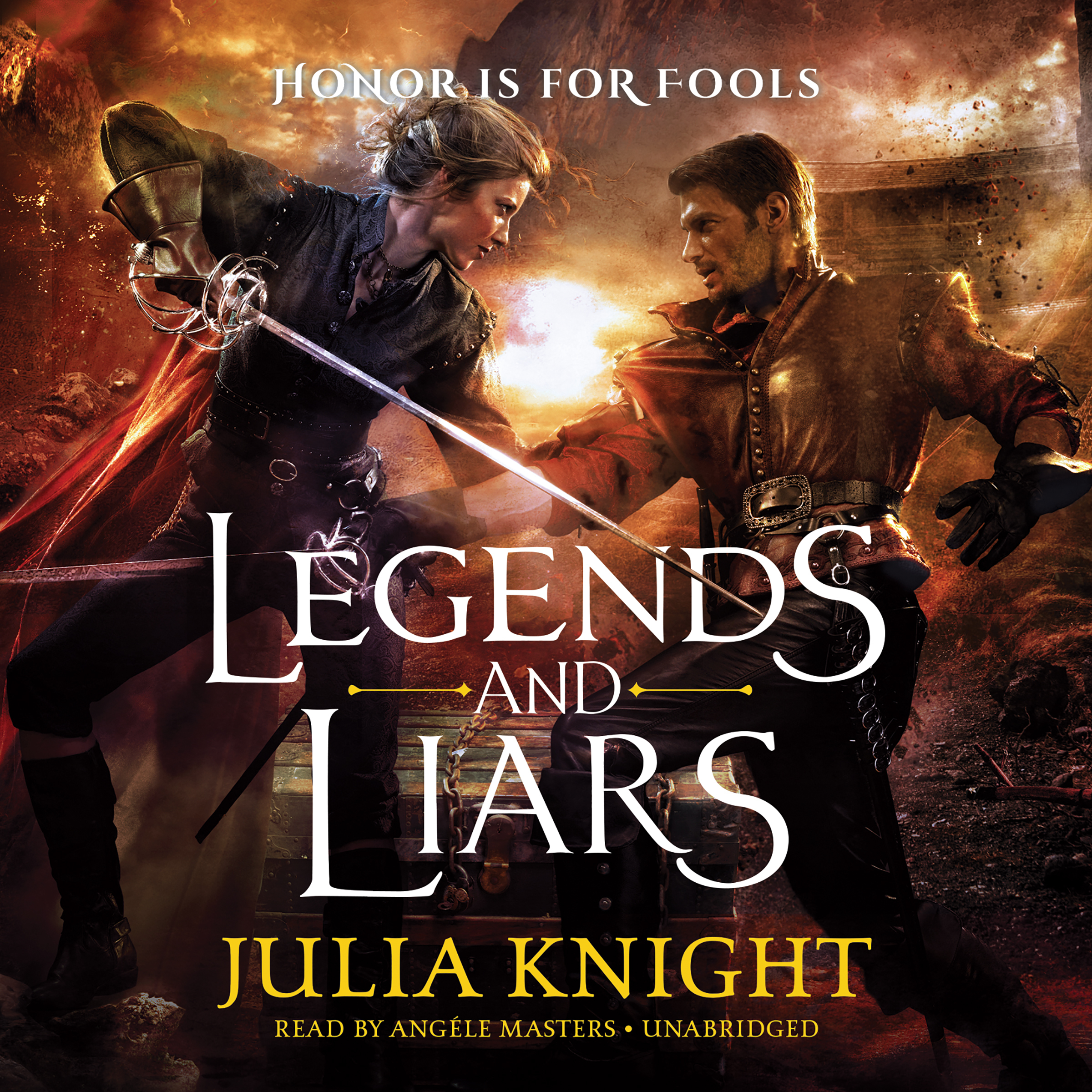 Printable Legends and Liars Audiobook Cover Art