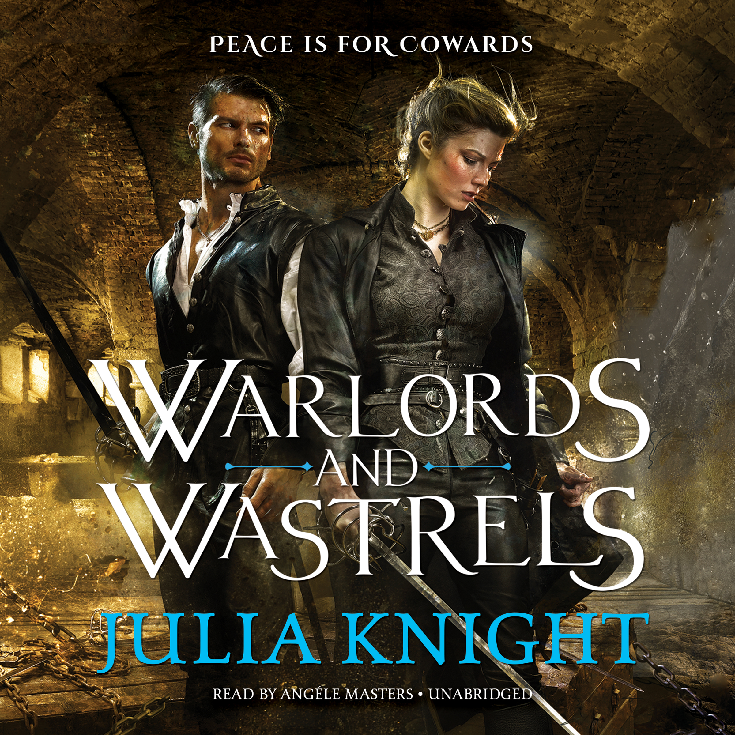 Printable Warlords and Wastrels Audiobook Cover Art