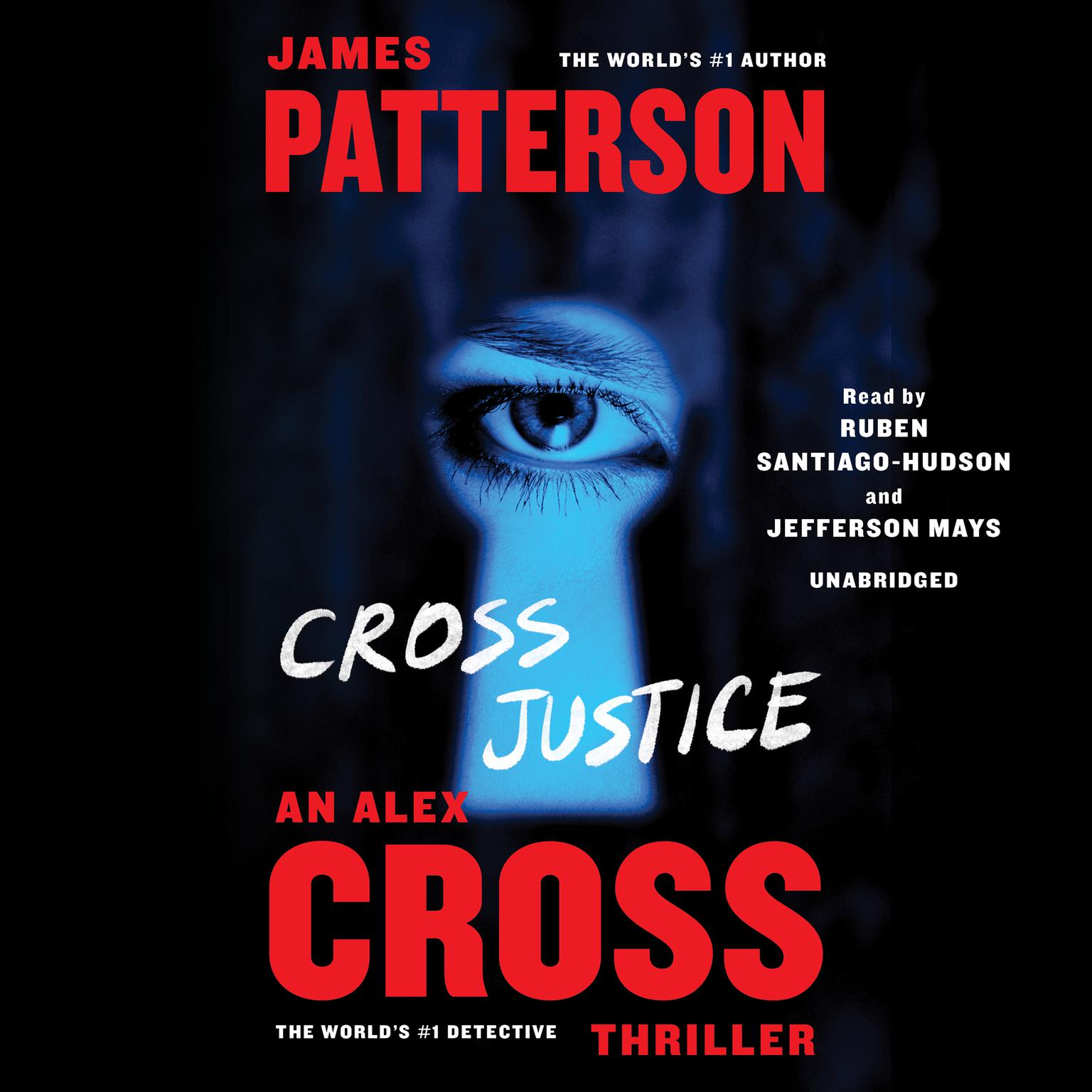 Printable Cross Justice Audiobook Cover Art