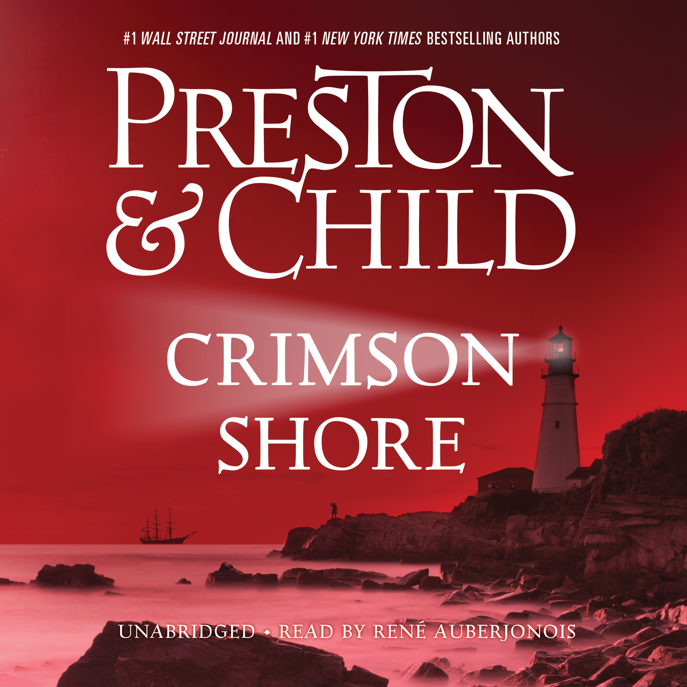 Printable Crimson Shore Audiobook Cover Art