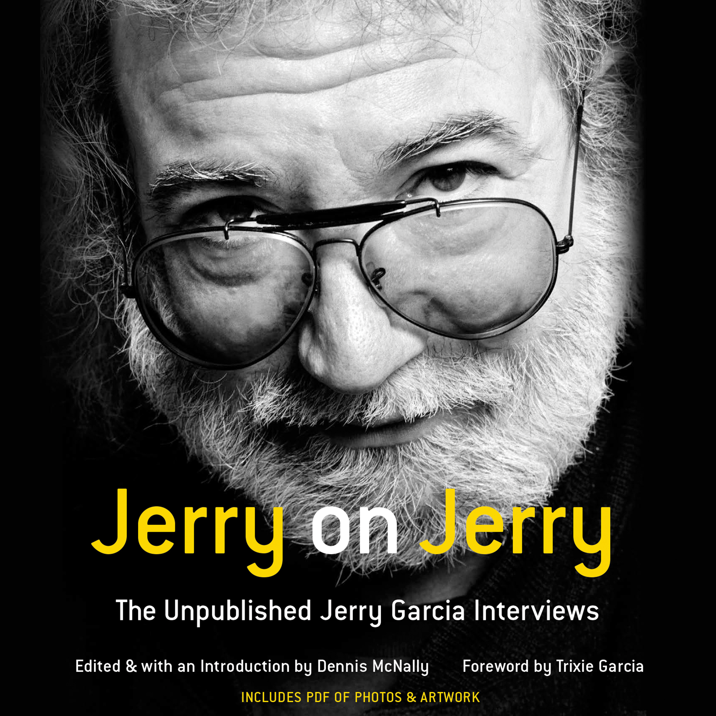 Printable Jerry on Jerry: The Unpublished Jerry Garcia Interviews Audiobook Cover Art