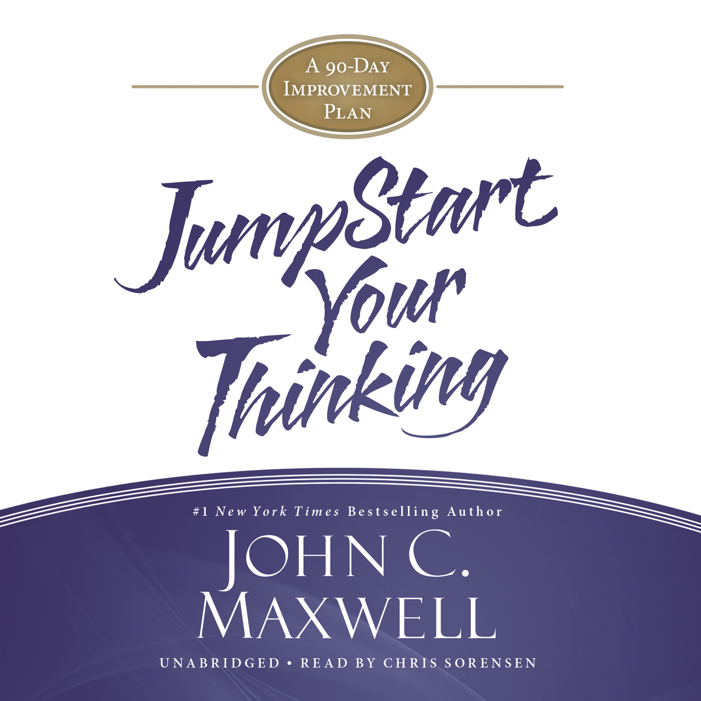Printable Jumpstart Your Thinking: A 90-Day Improvement Plan Audiobook Cover Art