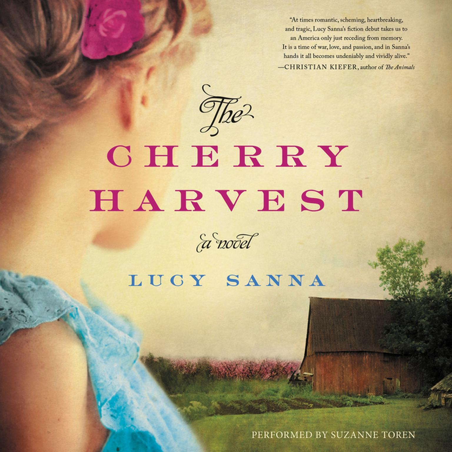 Printable The Cherry Harvest: A Novel Audiobook Cover Art