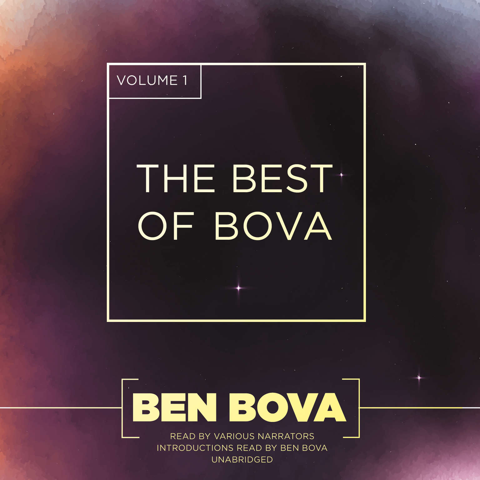 Printable The Best of Bova, Vol. 1 Audiobook Cover Art