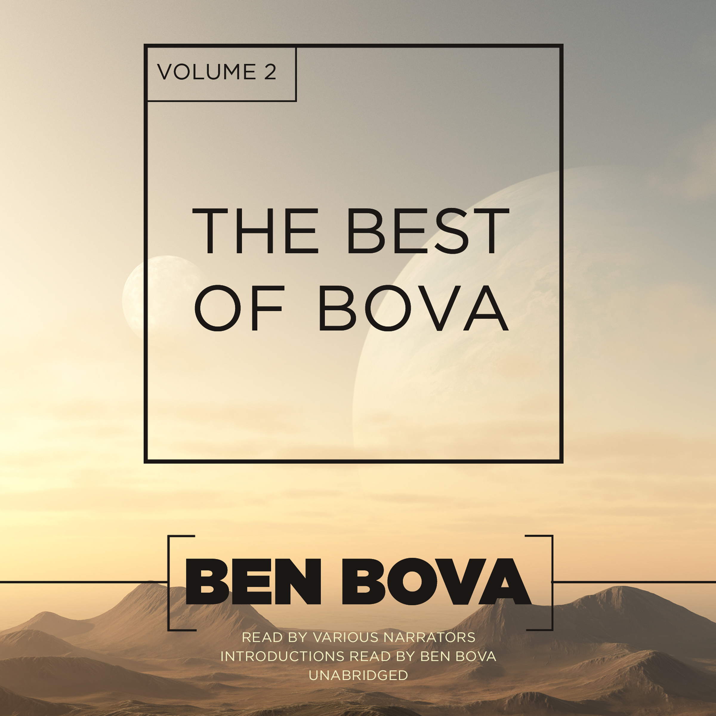 Printable The Best of Bova, Vol. 2 Audiobook Cover Art
