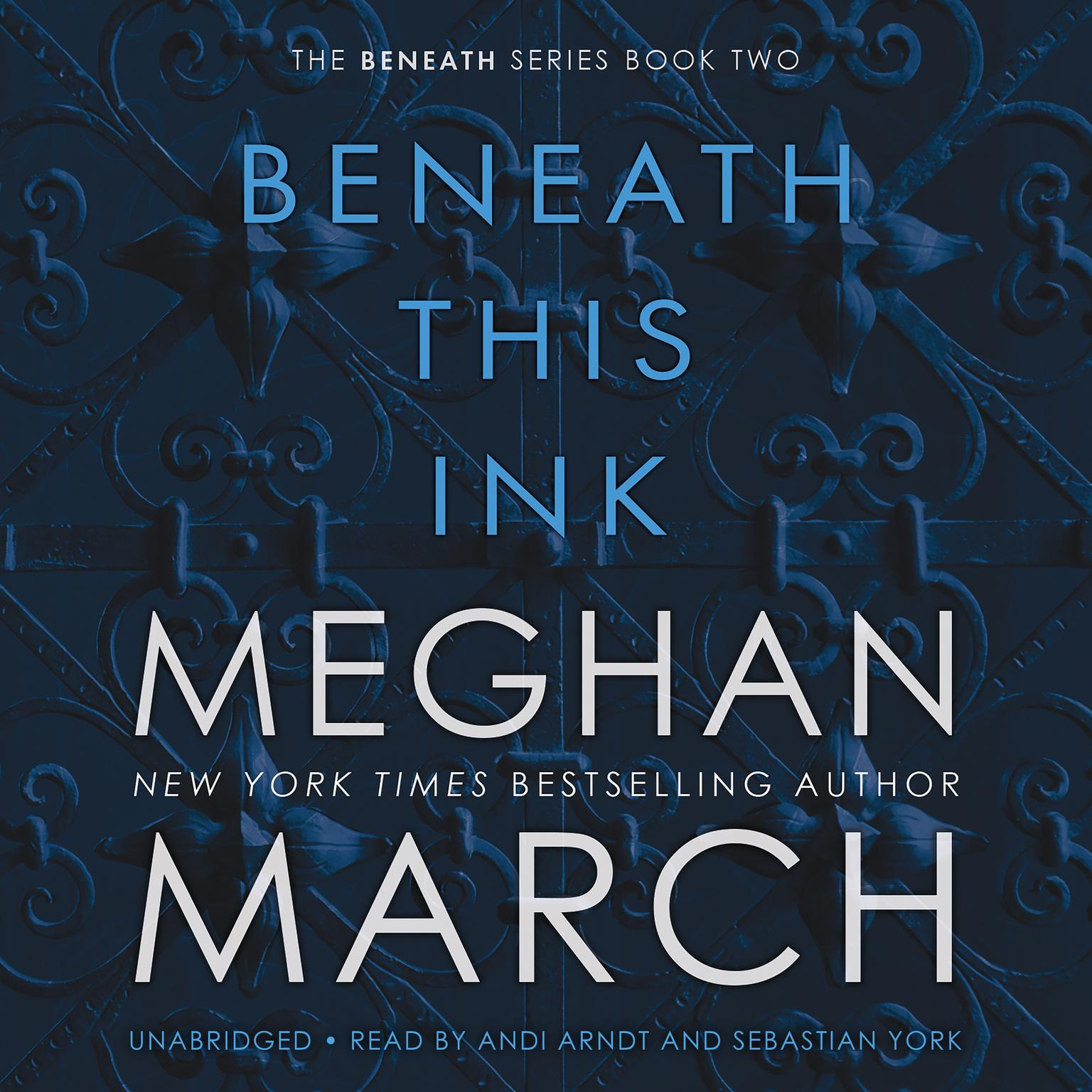 Printable Beneath This Ink Audiobook Cover Art