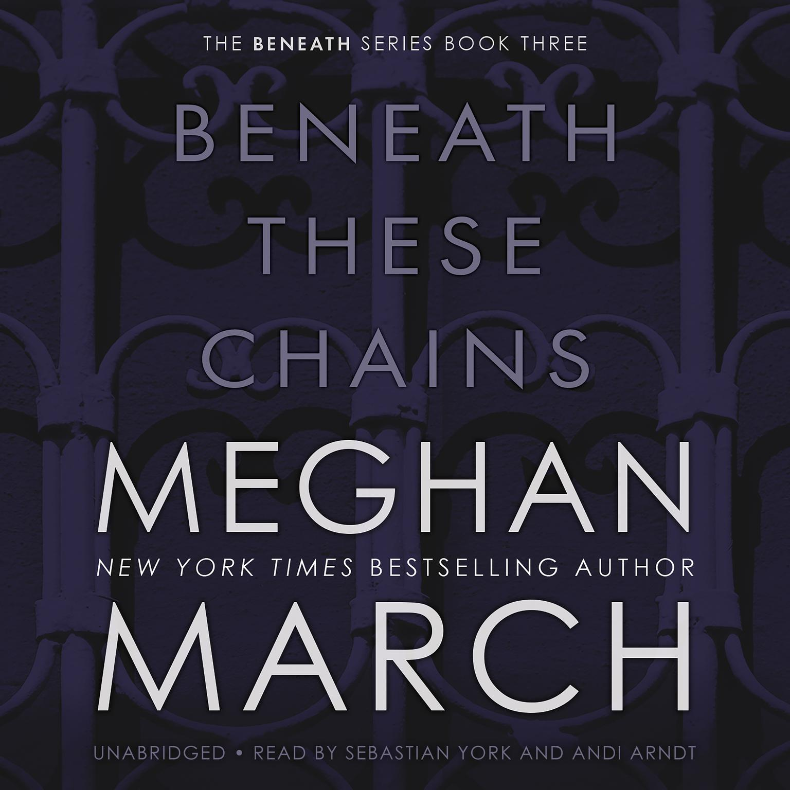 Printable Beneath These Chains Audiobook Cover Art