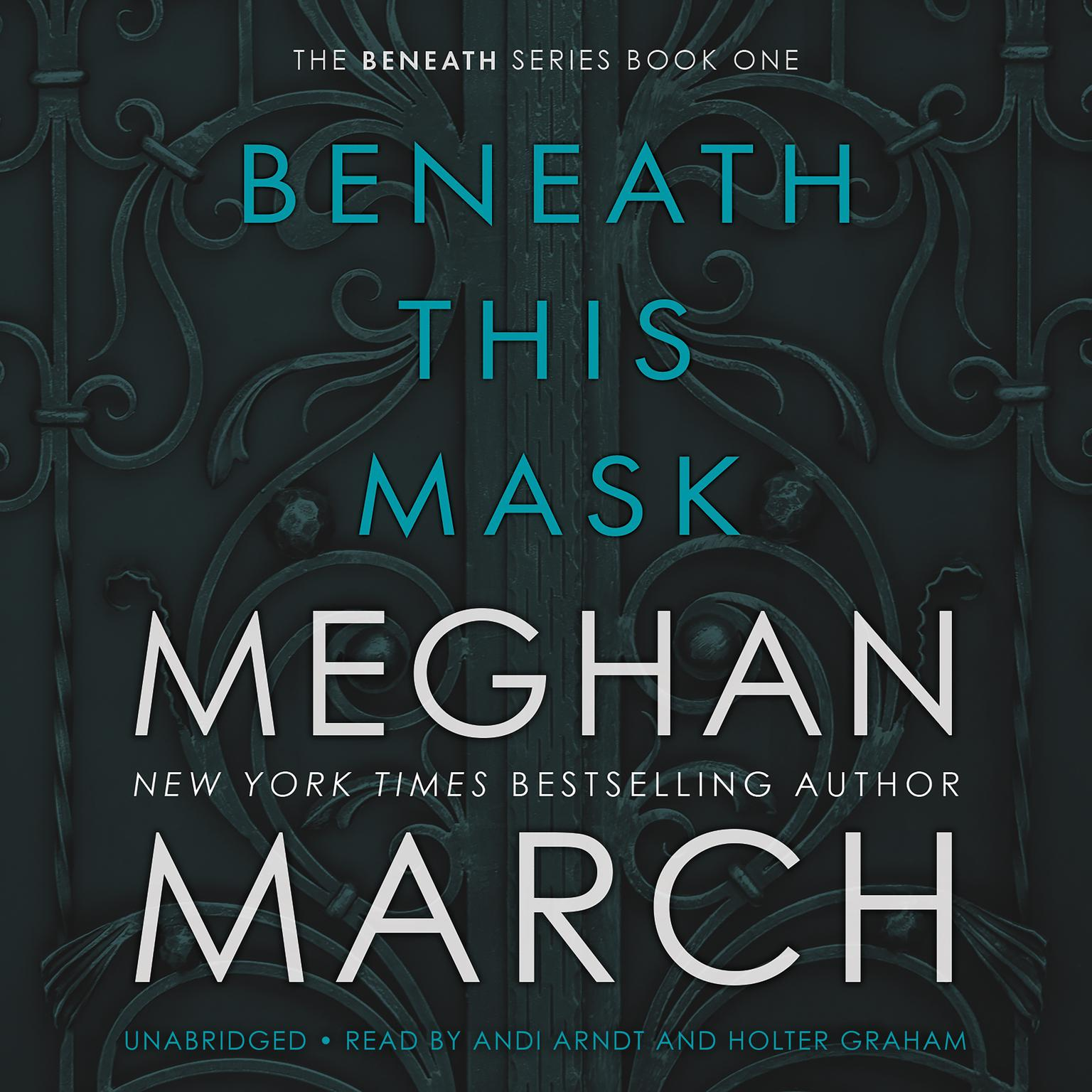 Printable Beneath This Mask Audiobook Cover Art