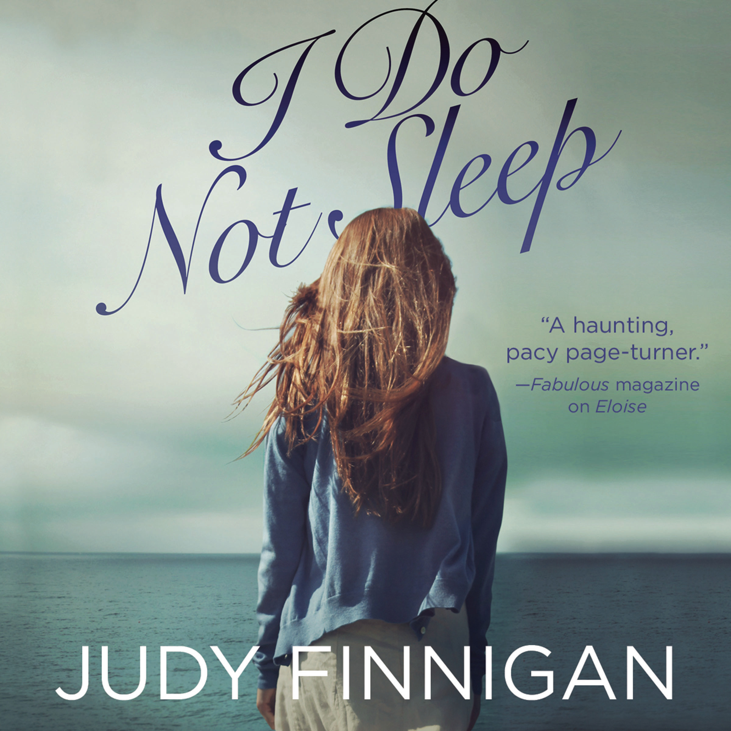 Printable I Do Not Sleep Audiobook Cover Art