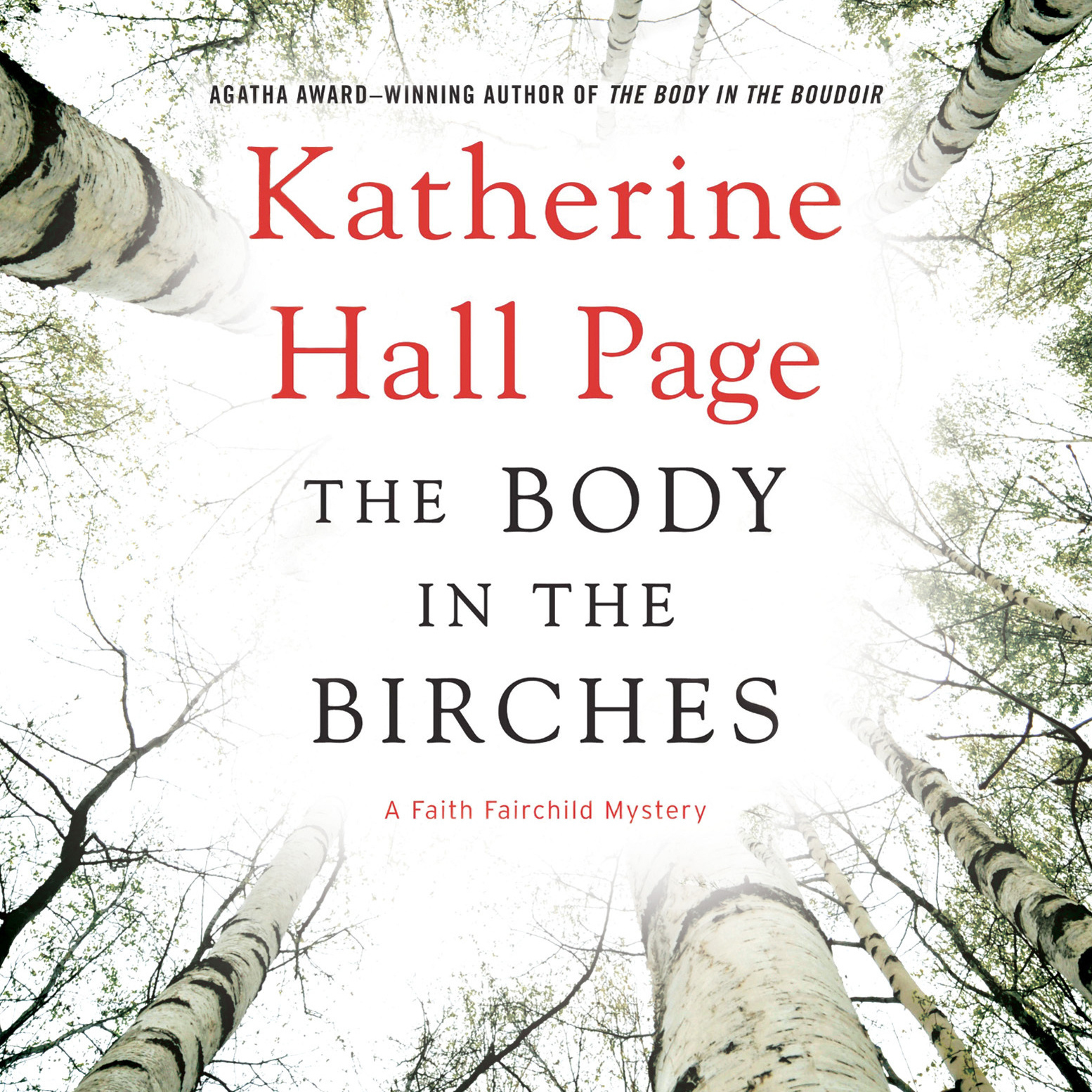 Printable The Body in the Birches: A Faith Fairchild Mystery Audiobook Cover Art